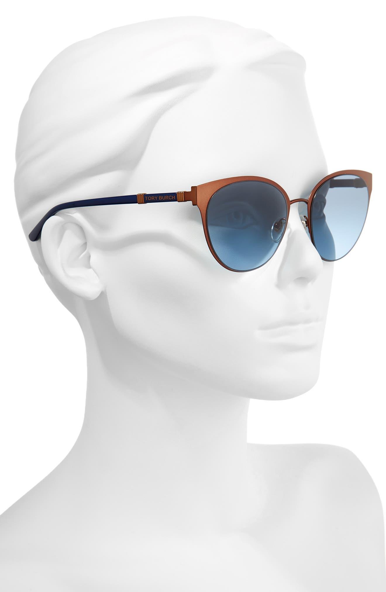 55mm Cat Eye Sunglasses,                             Alternate thumbnail 2, color,                             220