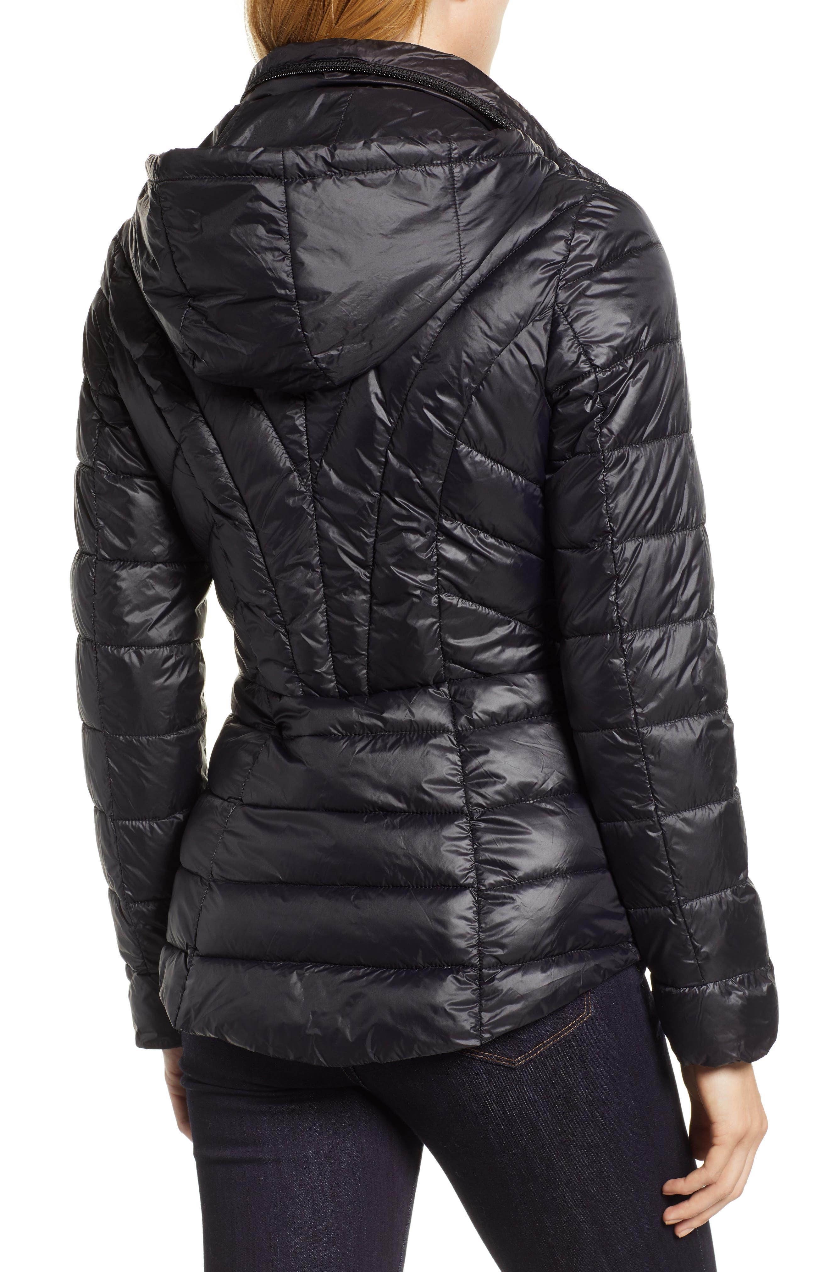 Puffer Jacket,                             Alternate thumbnail 2, color,                             BLACK