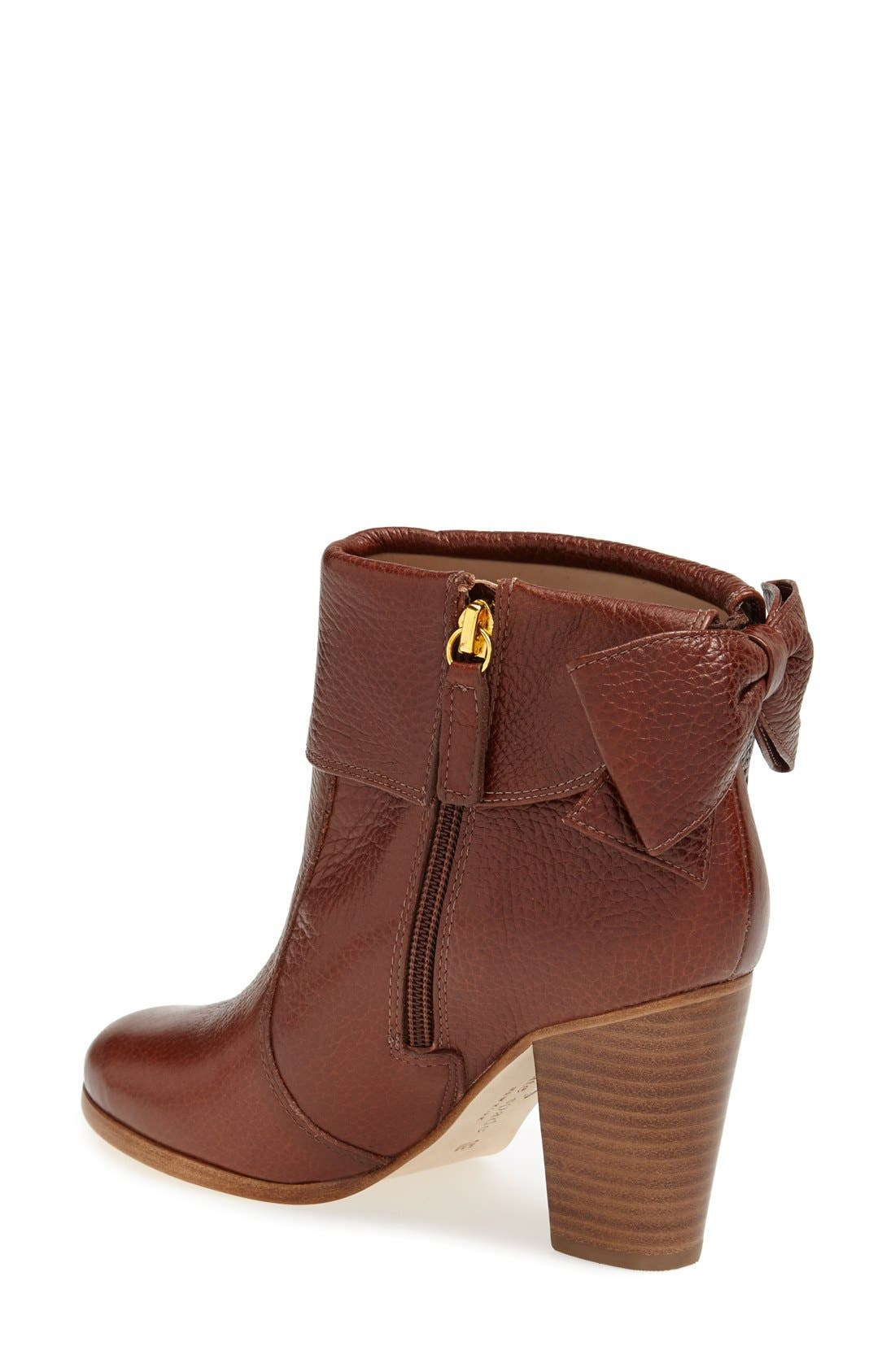 'lanise' leather boot,                             Alternate thumbnail 5, color,