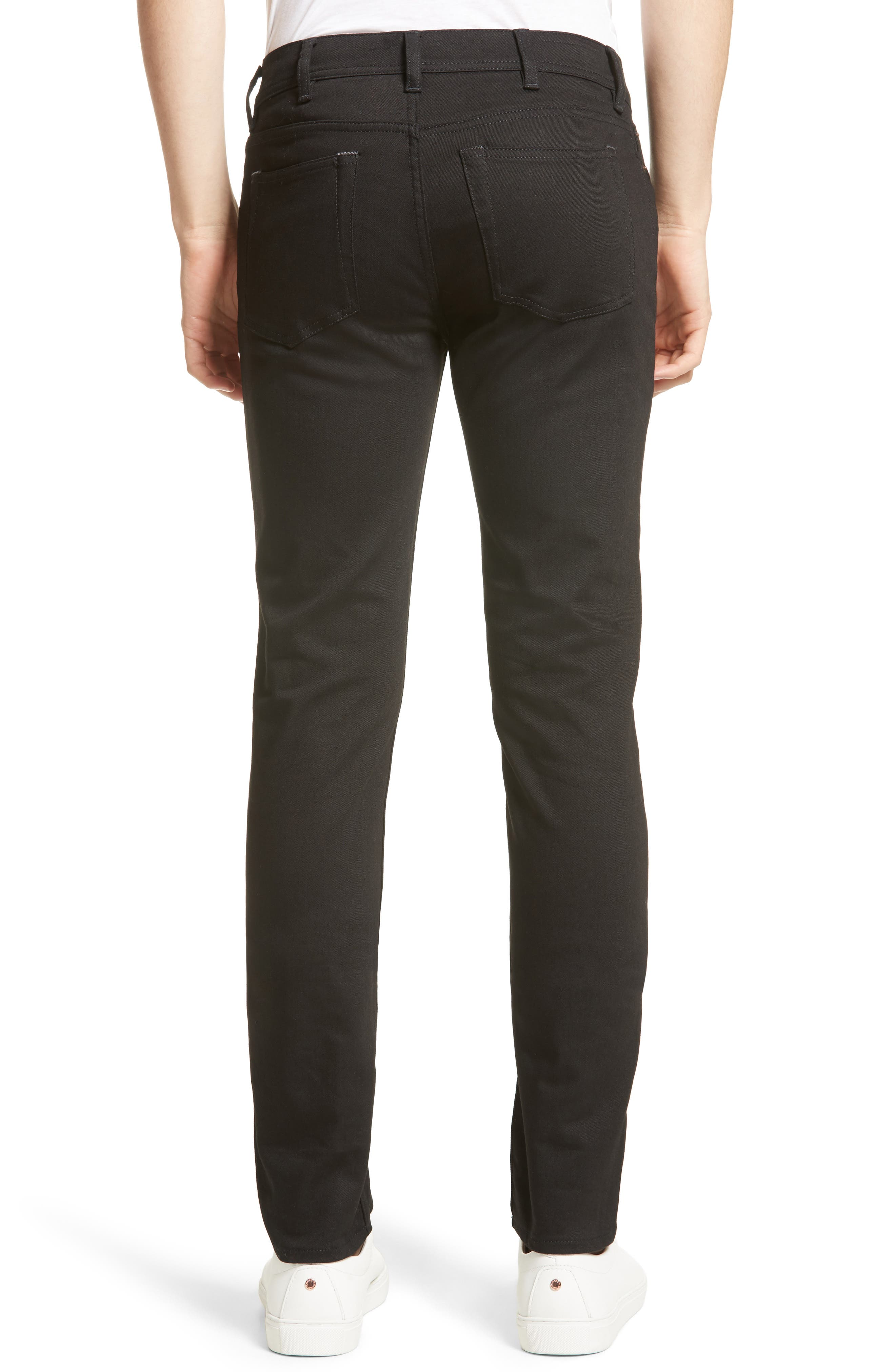 North Skinny Jeans,                             Alternate thumbnail 2, color,                             001