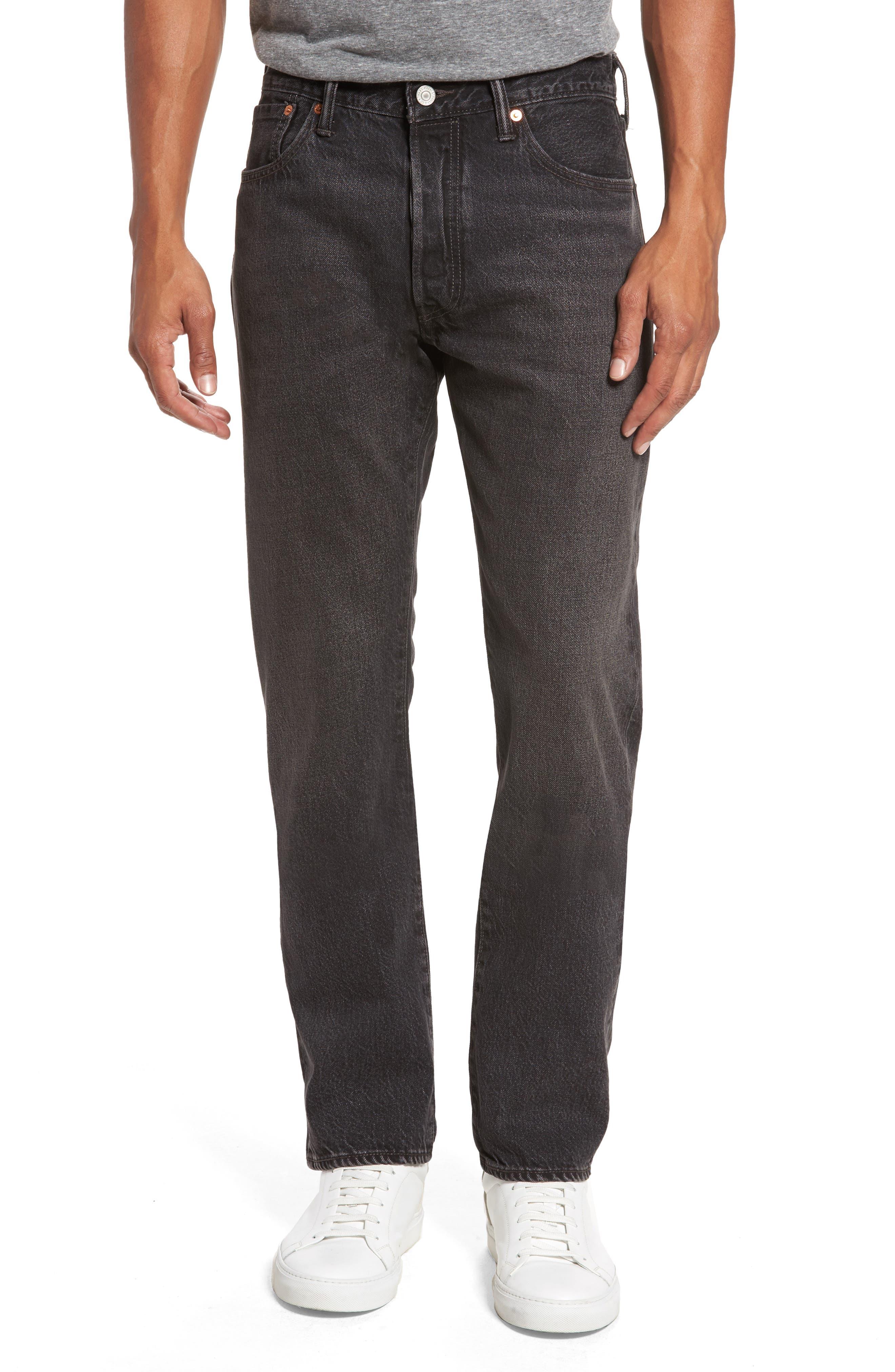 501<sup>™</sup> Straight Leg Jeans,                             Main thumbnail 1, color,                             001