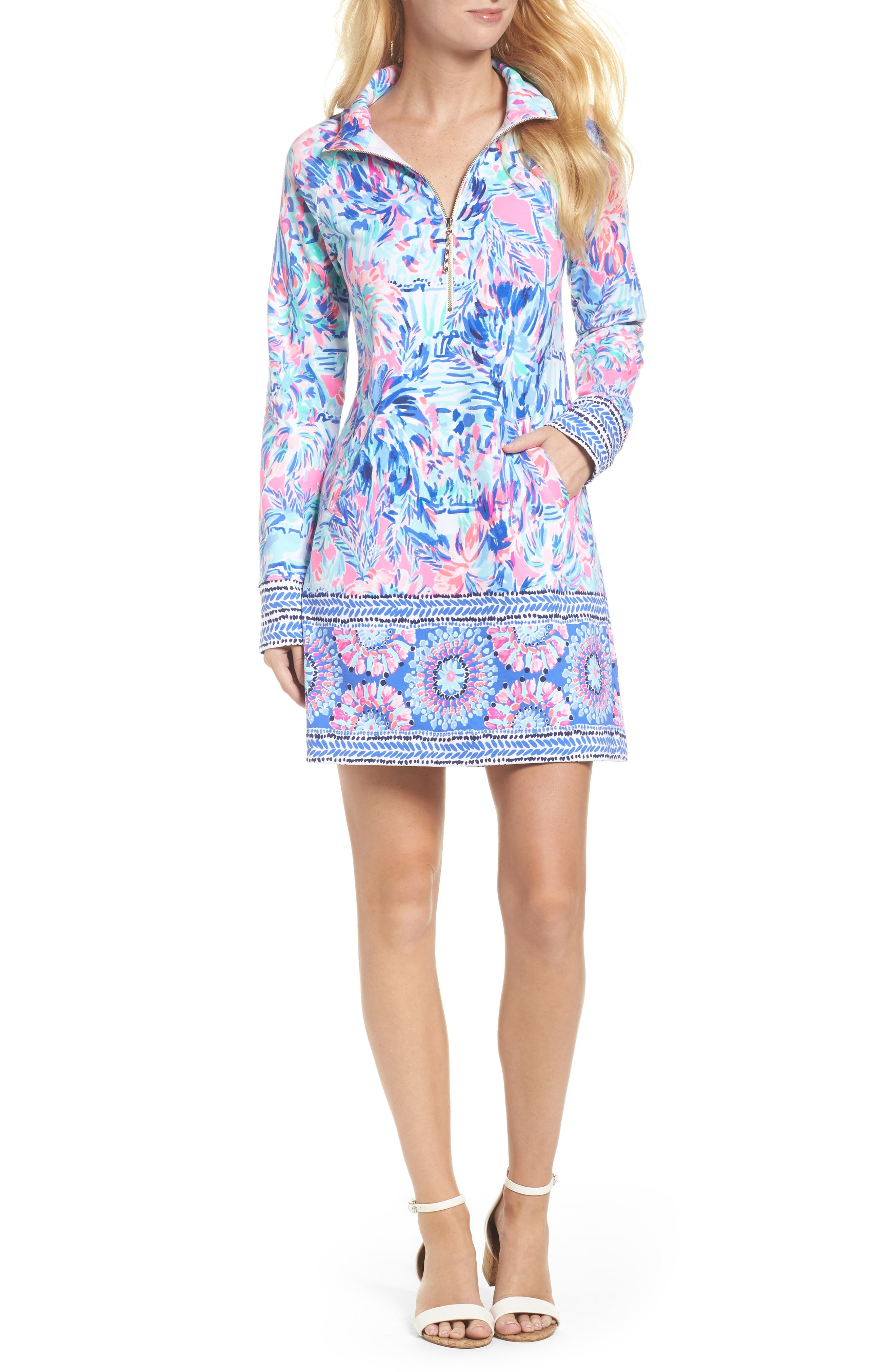 Skipper UPF 50+ Dress,                             Alternate thumbnail 5, color,                             699