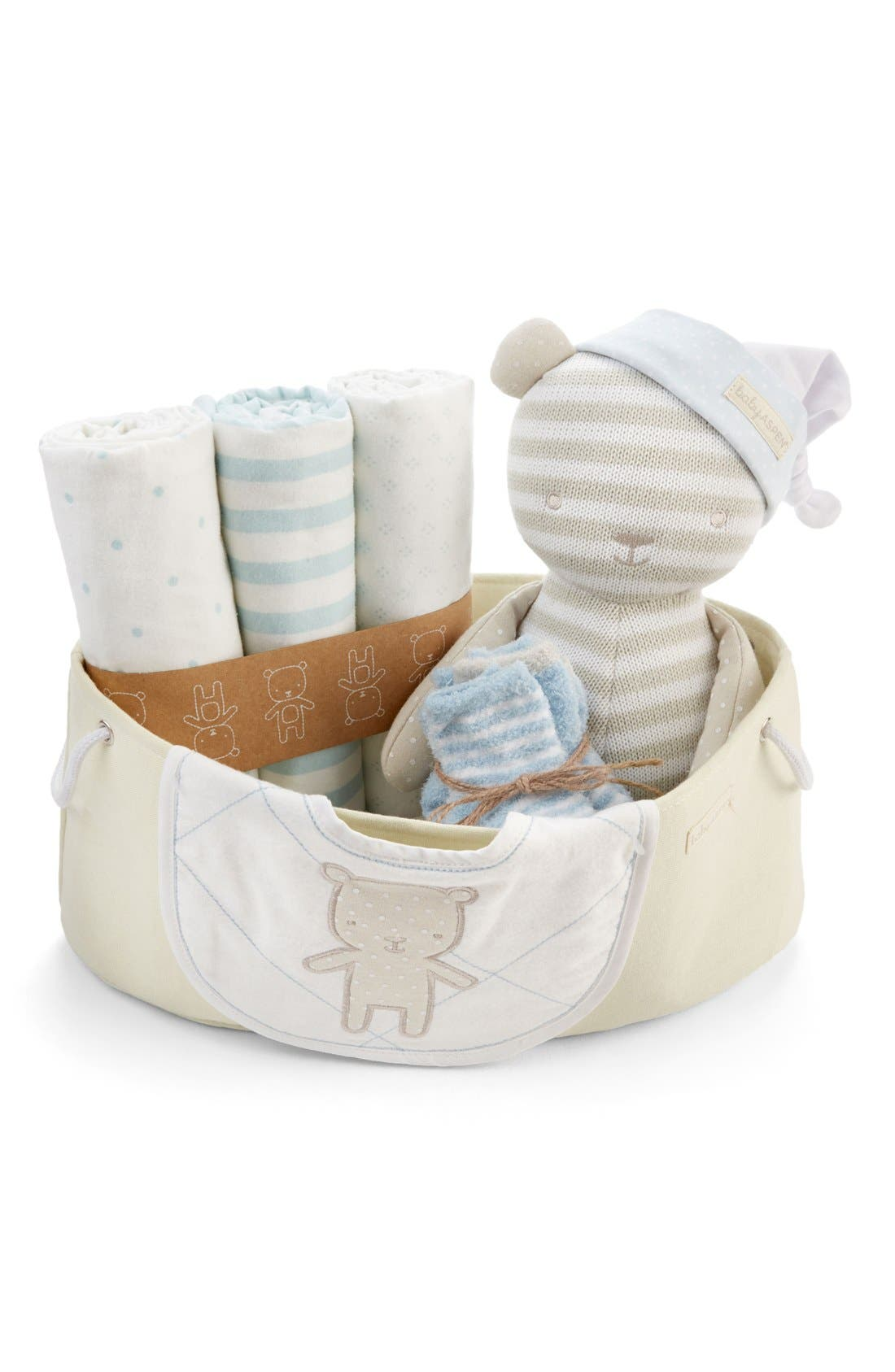 Beary Special 10-Piece Gift Set,                         Main,                         color, BLUE