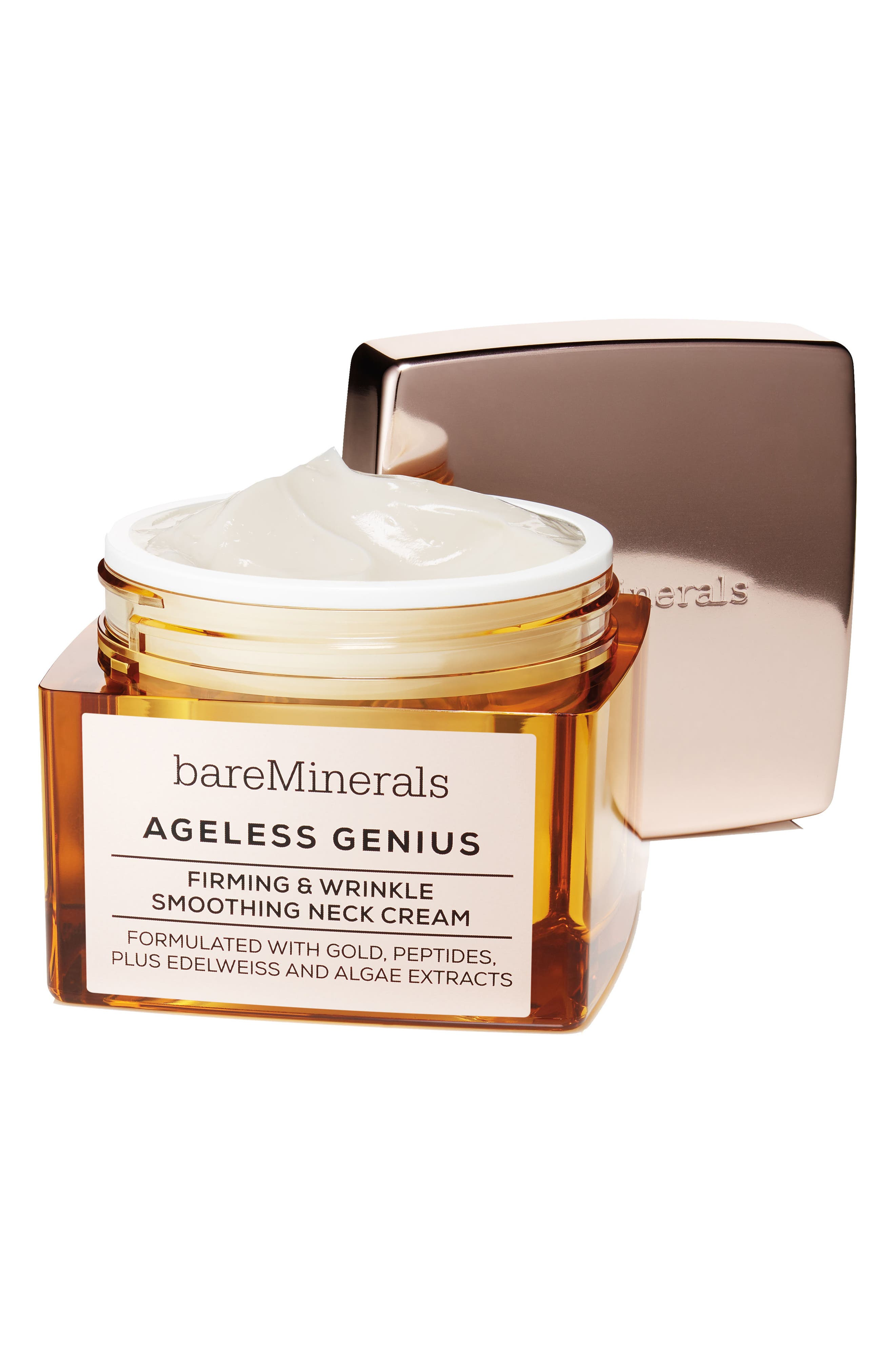 Ageless Genius Firming & Wrinkle Smoothing Neck Cream,                             Alternate thumbnail 2, color,                             NO COLOR