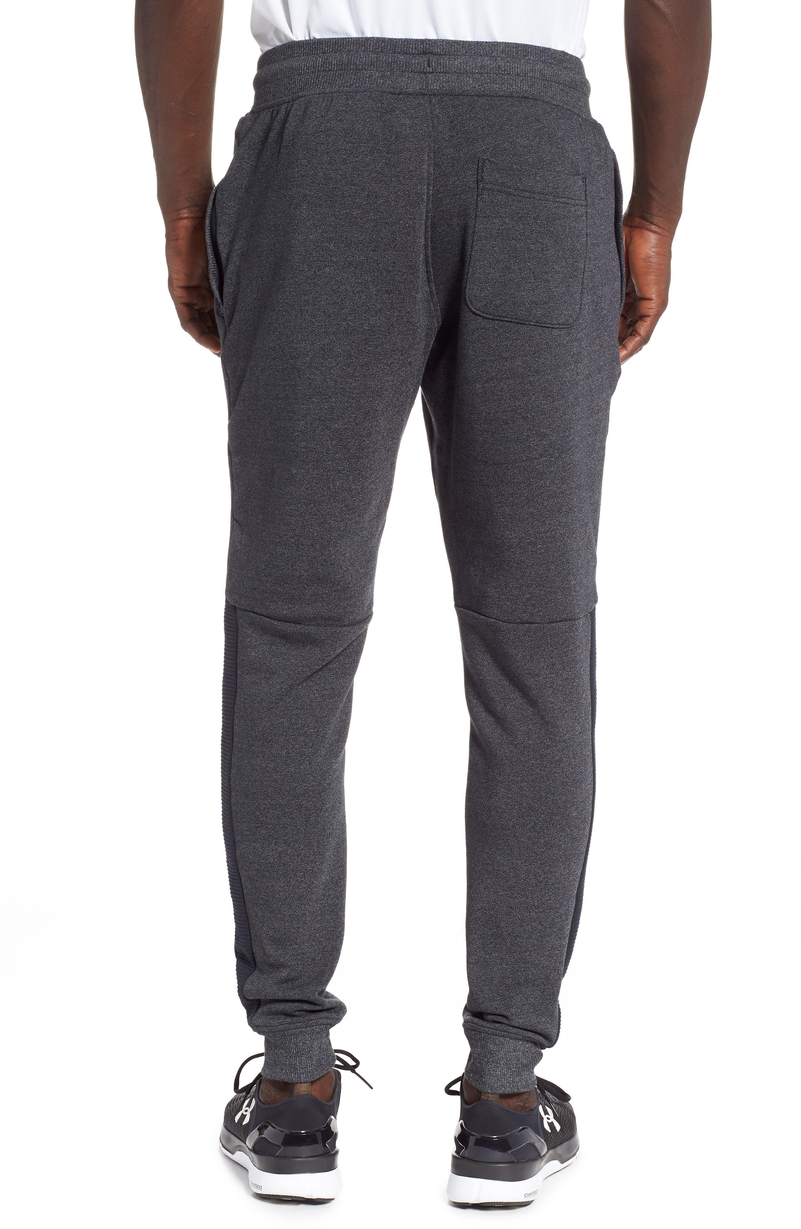 Threadborne Jogger Pants,                             Alternate thumbnail 2, color,                             BLACK/ BLACK