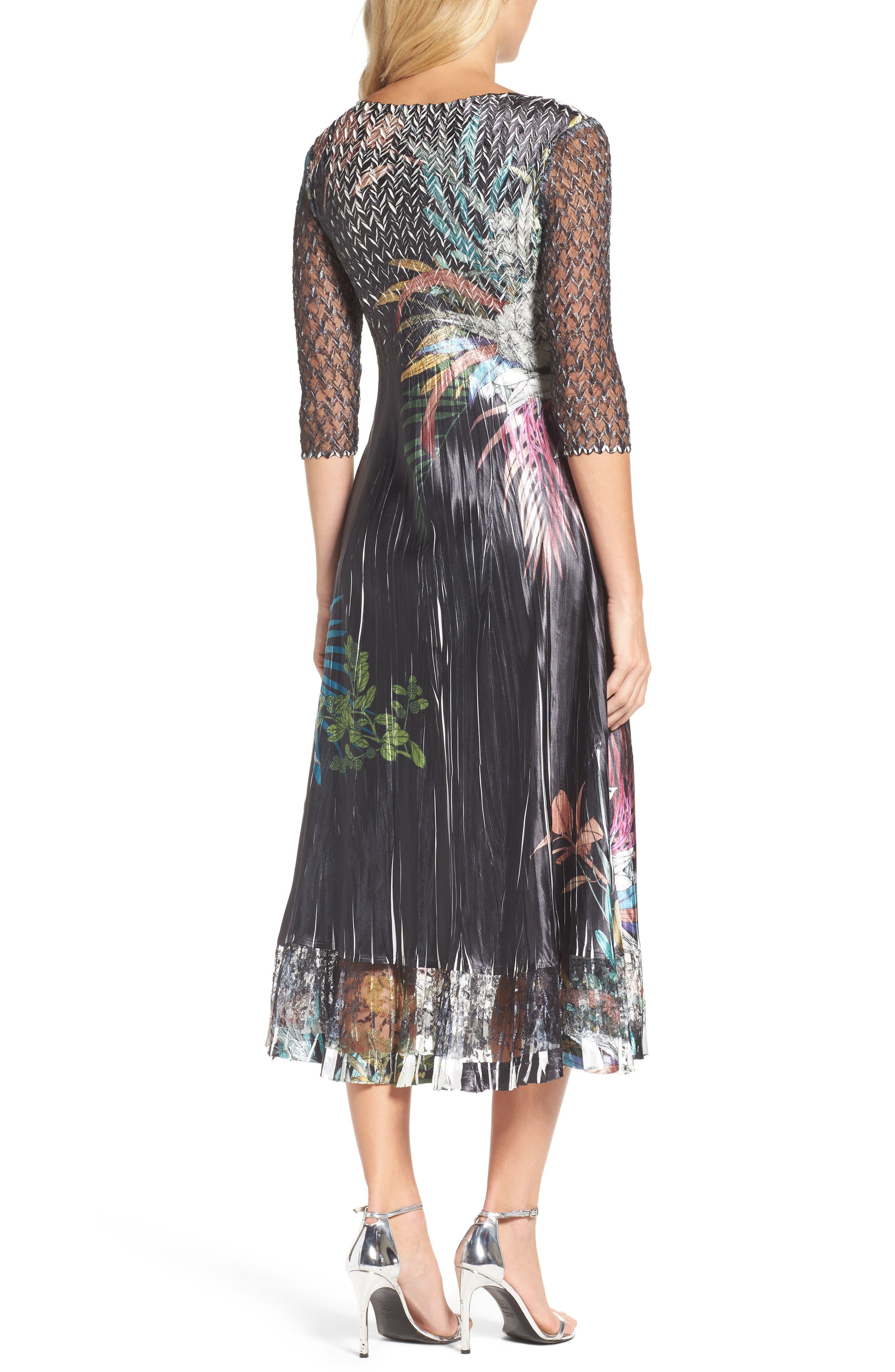 Print Sash Maxi Dress,                             Alternate thumbnail 2, color,                             039