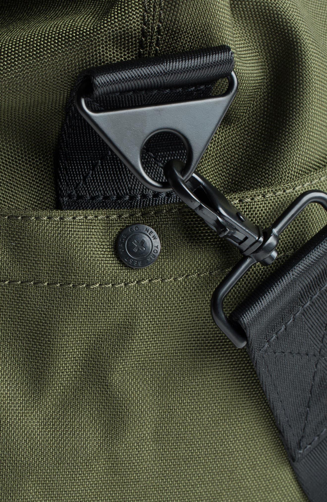 SWS 50L Roll Top Duffel Bag,                             Alternate thumbnail 8, color,                             OLIVE