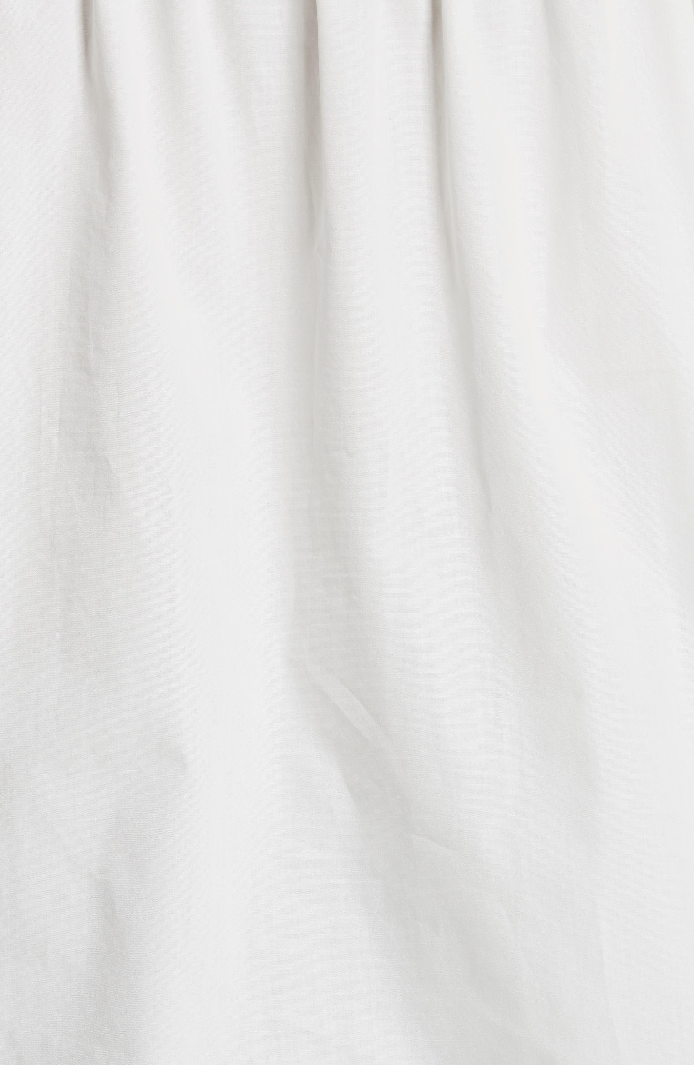 Cold Shoulder Cotton Top,                             Alternate thumbnail 5, color,                             110