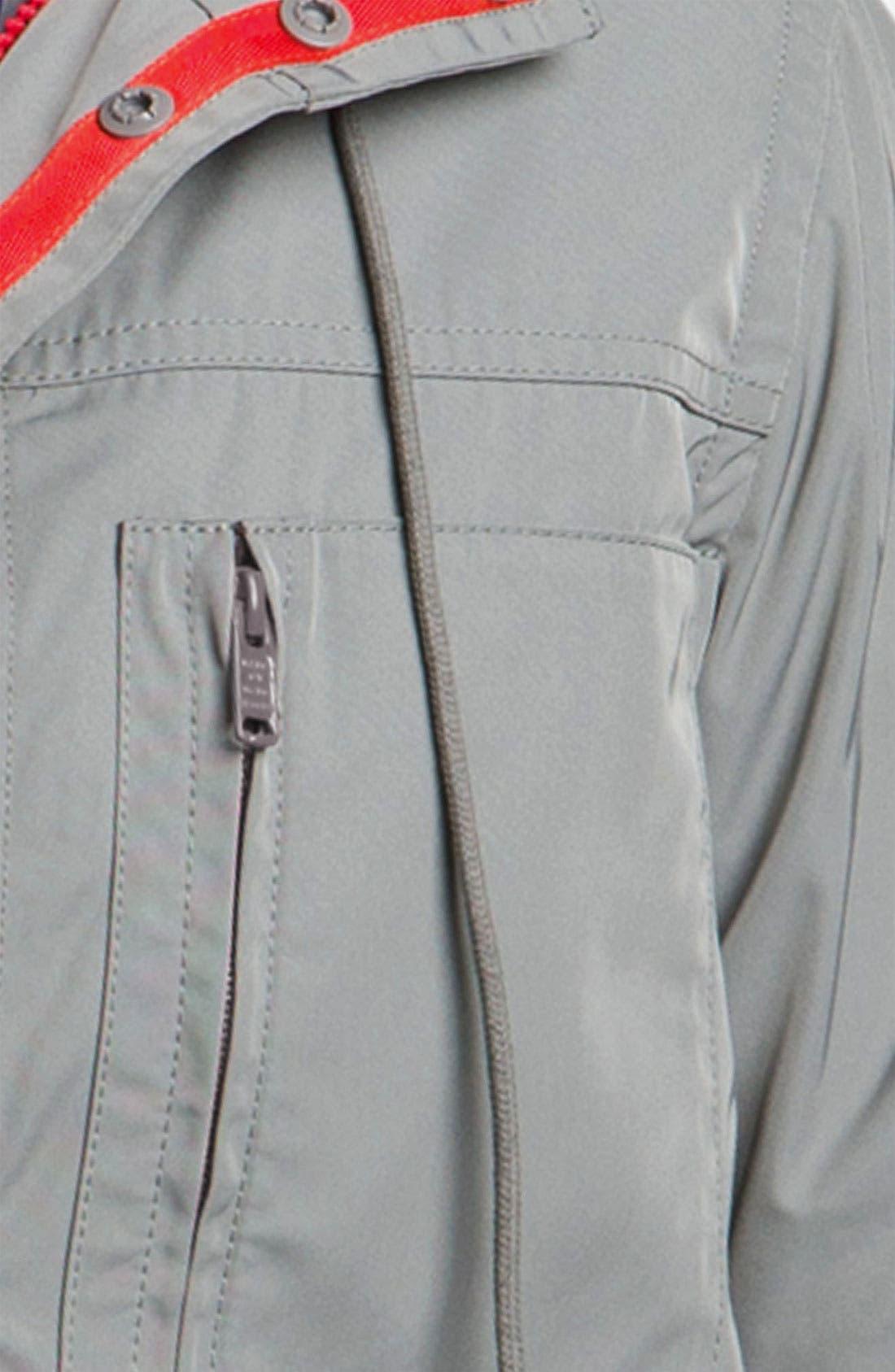Techno Gabardine Jacket,                             Alternate thumbnail 3, color,