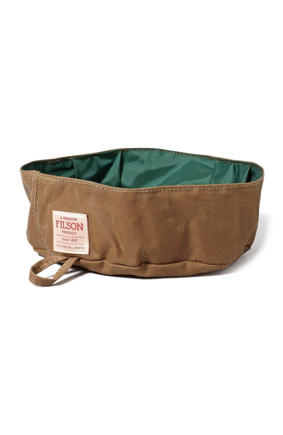 Collapsible Dog Bowl,                         Main,                         color, TAN