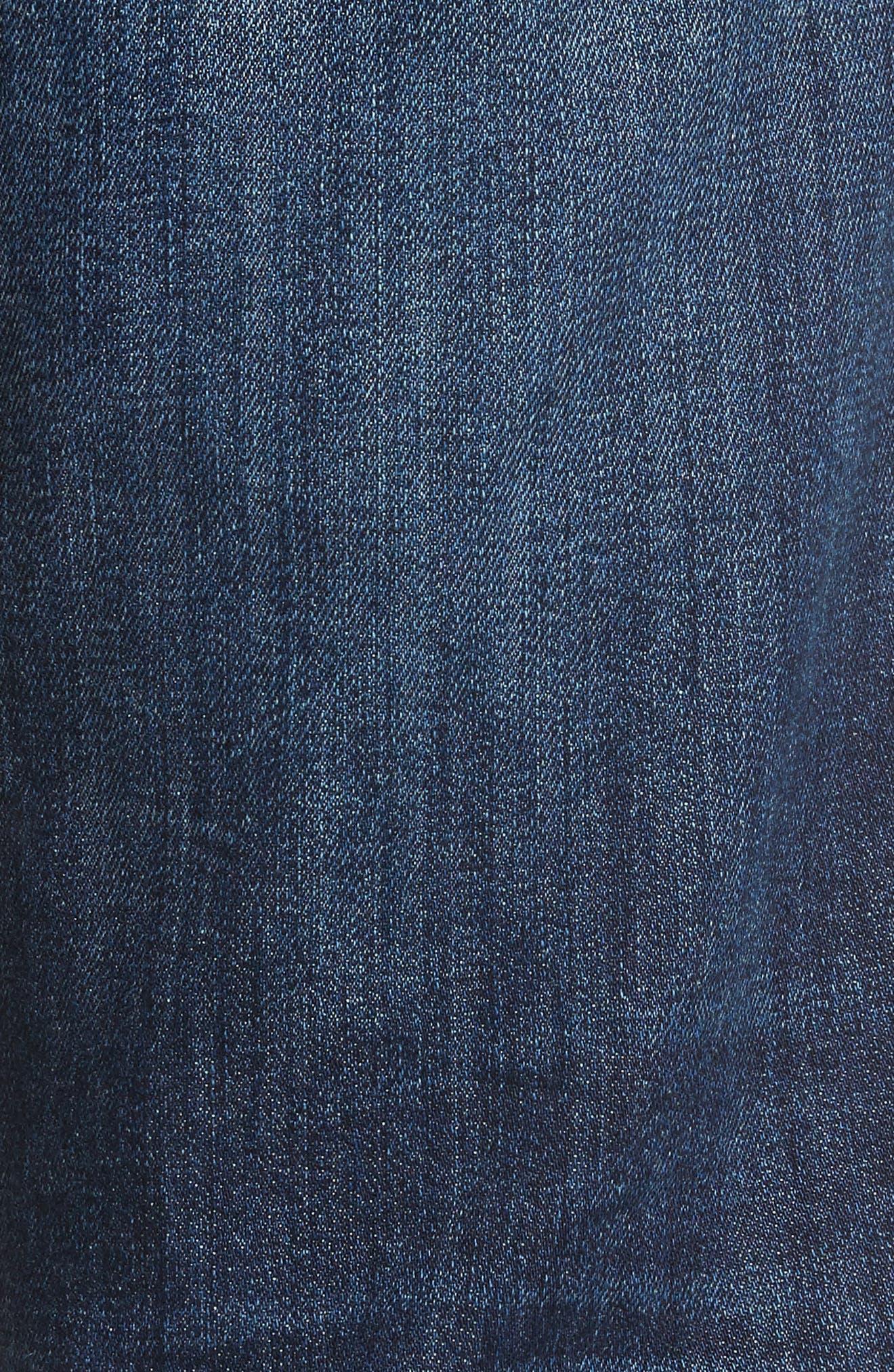 Classic Straight Fit Jeans,                             Alternate thumbnail 5, color,                             VIZZINI