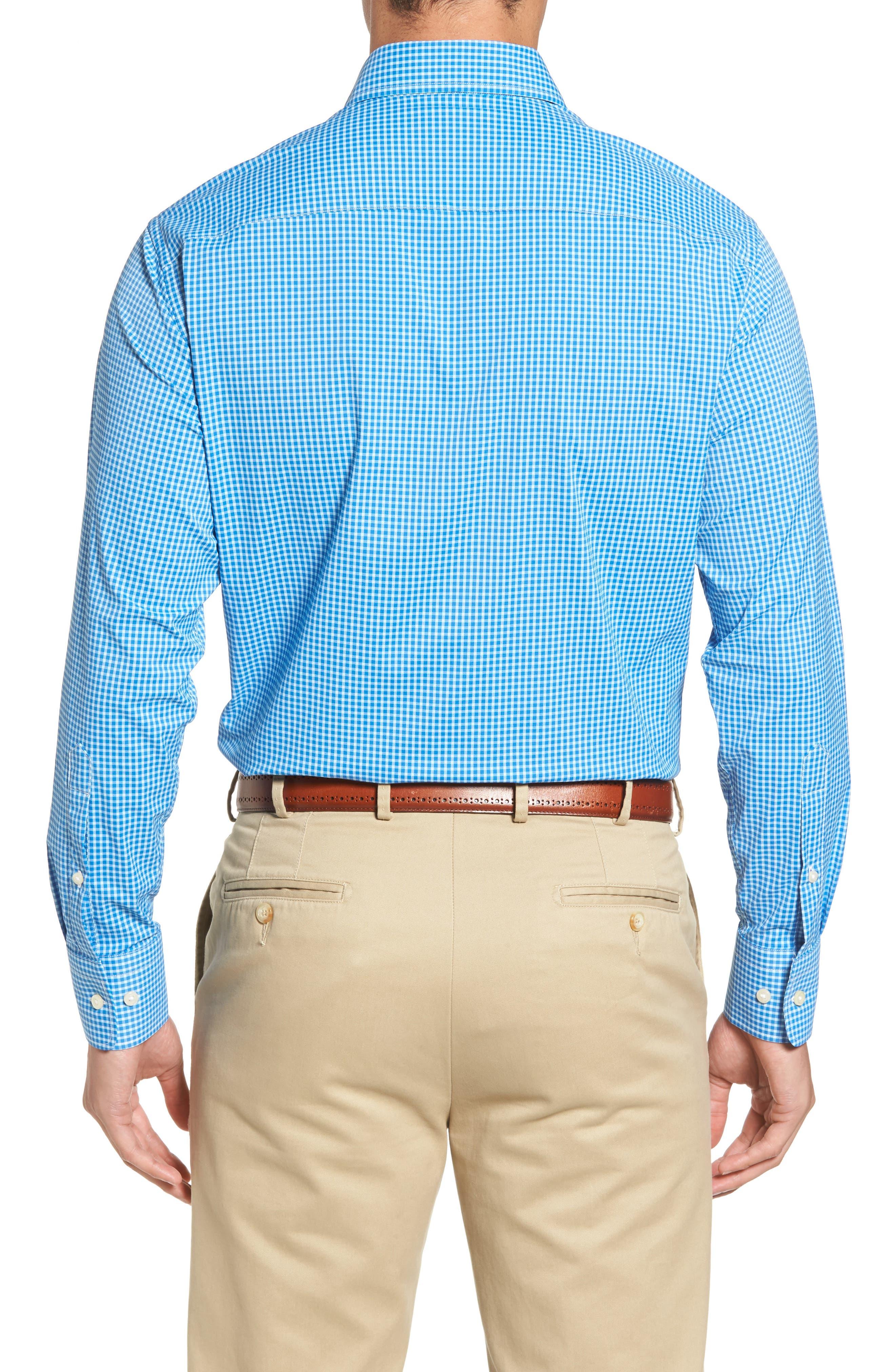 Statler Regular Fit Check Performance Sport Shirt,                             Alternate thumbnail 2, color,                             403