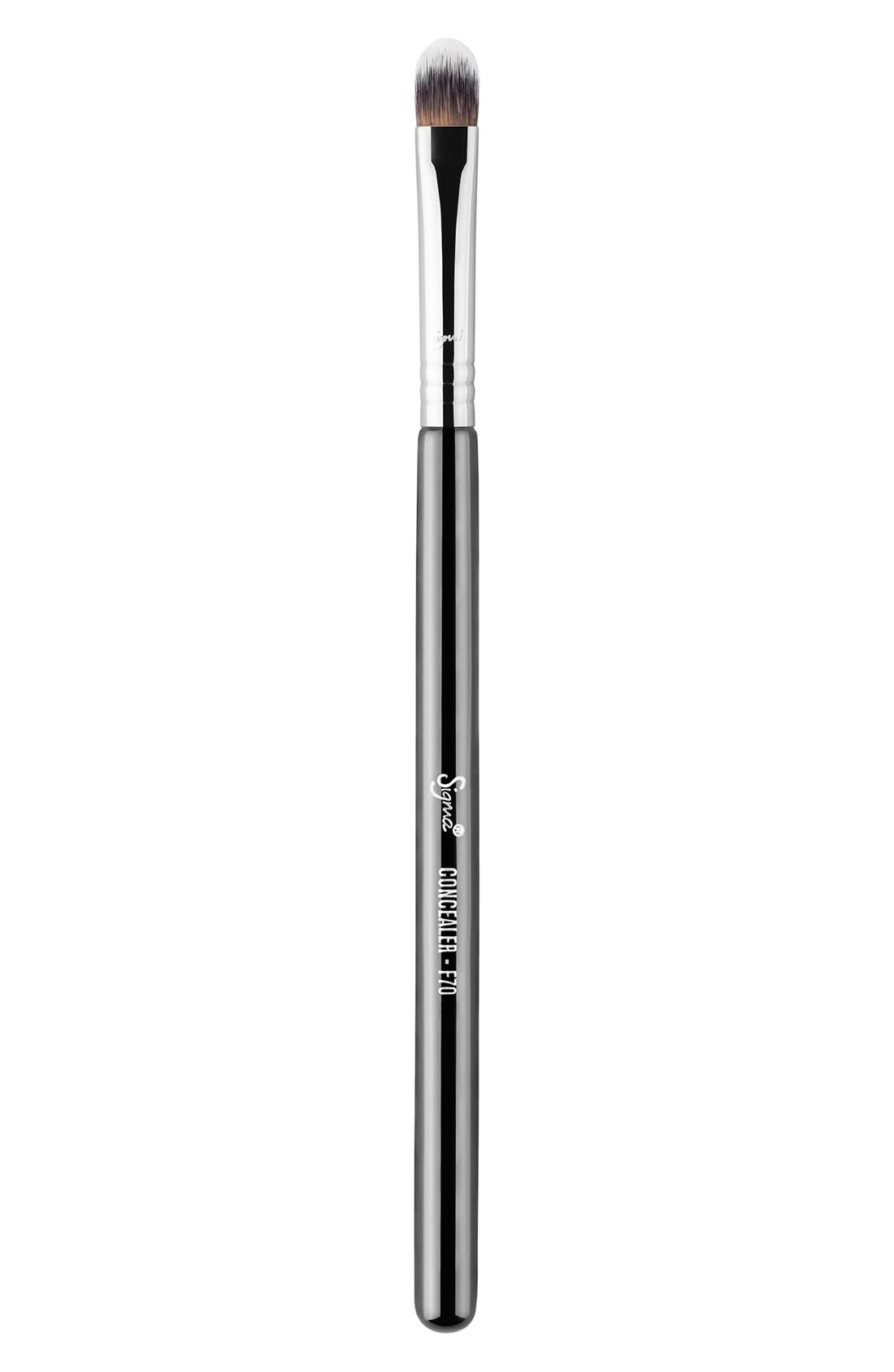 F70 Concealer Brush,                             Main thumbnail 1, color,                             NO COLOR