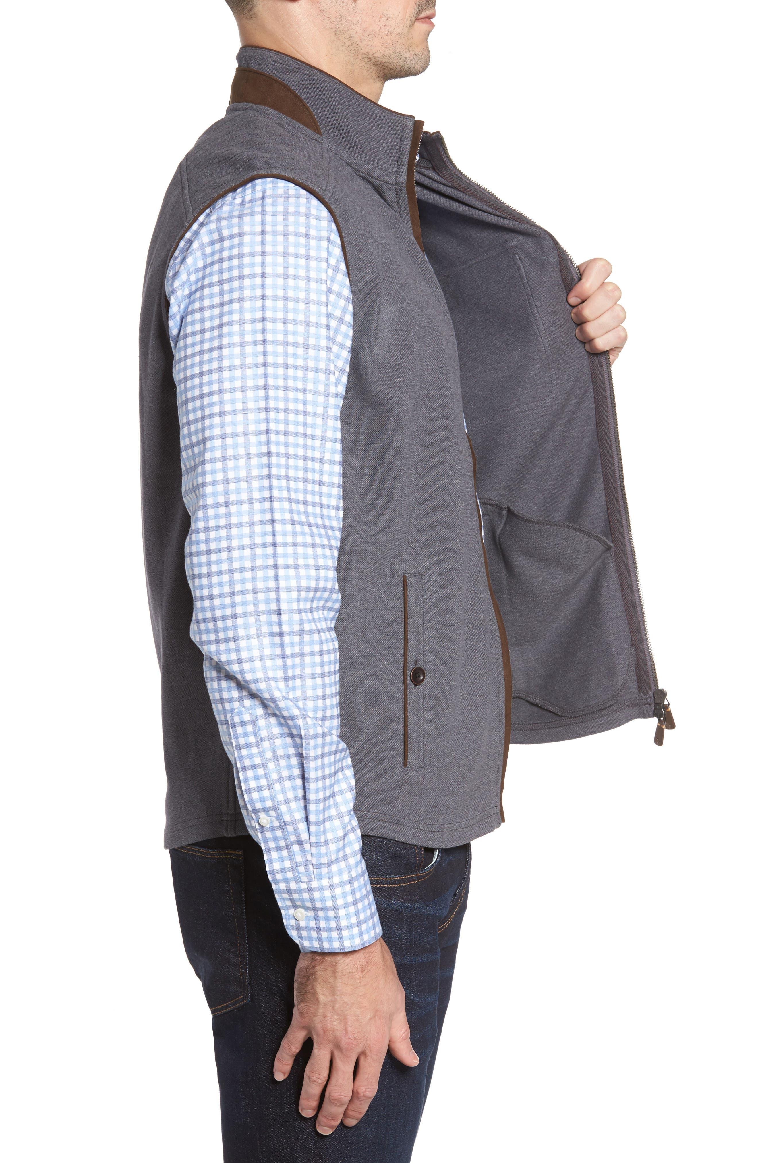 THADDEUS,                             Robert Full Zip Vest,                             Alternate thumbnail 3, color,                             014