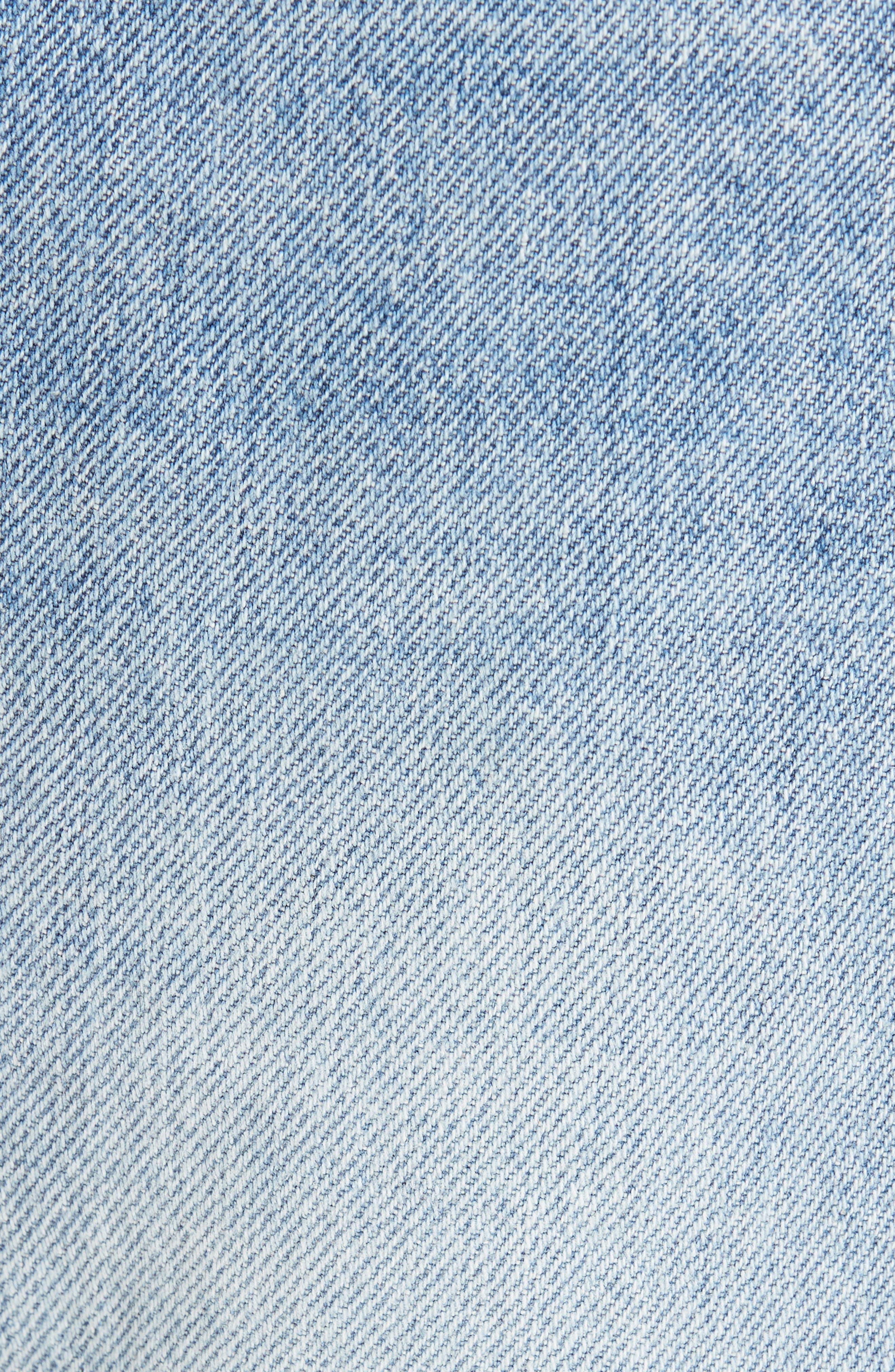 1997 Straight Leg Jeans,                             Alternate thumbnail 5, color,                             LIGHT BLUE