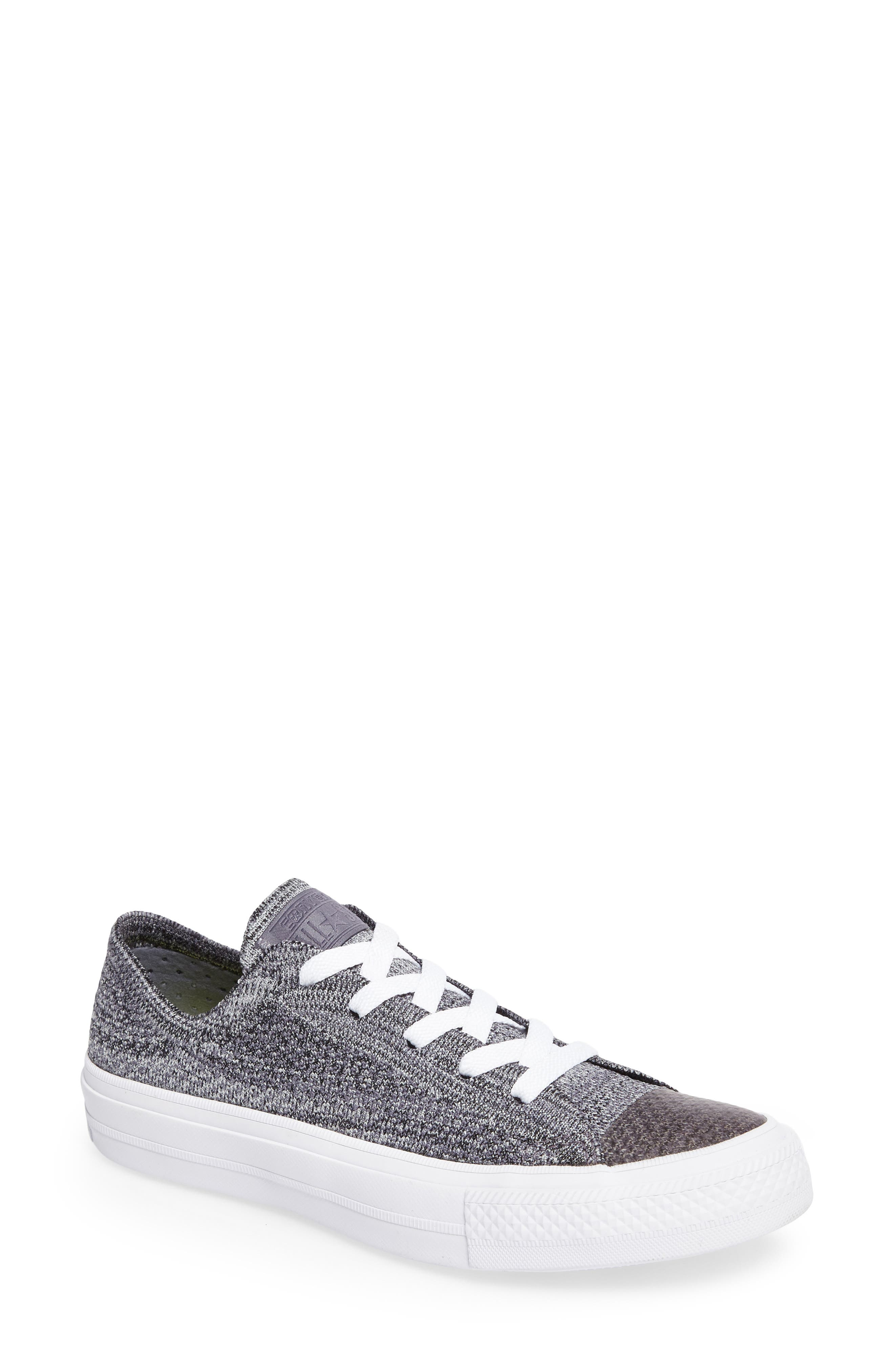 All Star<sup>®</sup> Flyknit Low Sneaker,                         Main,                         color, 027