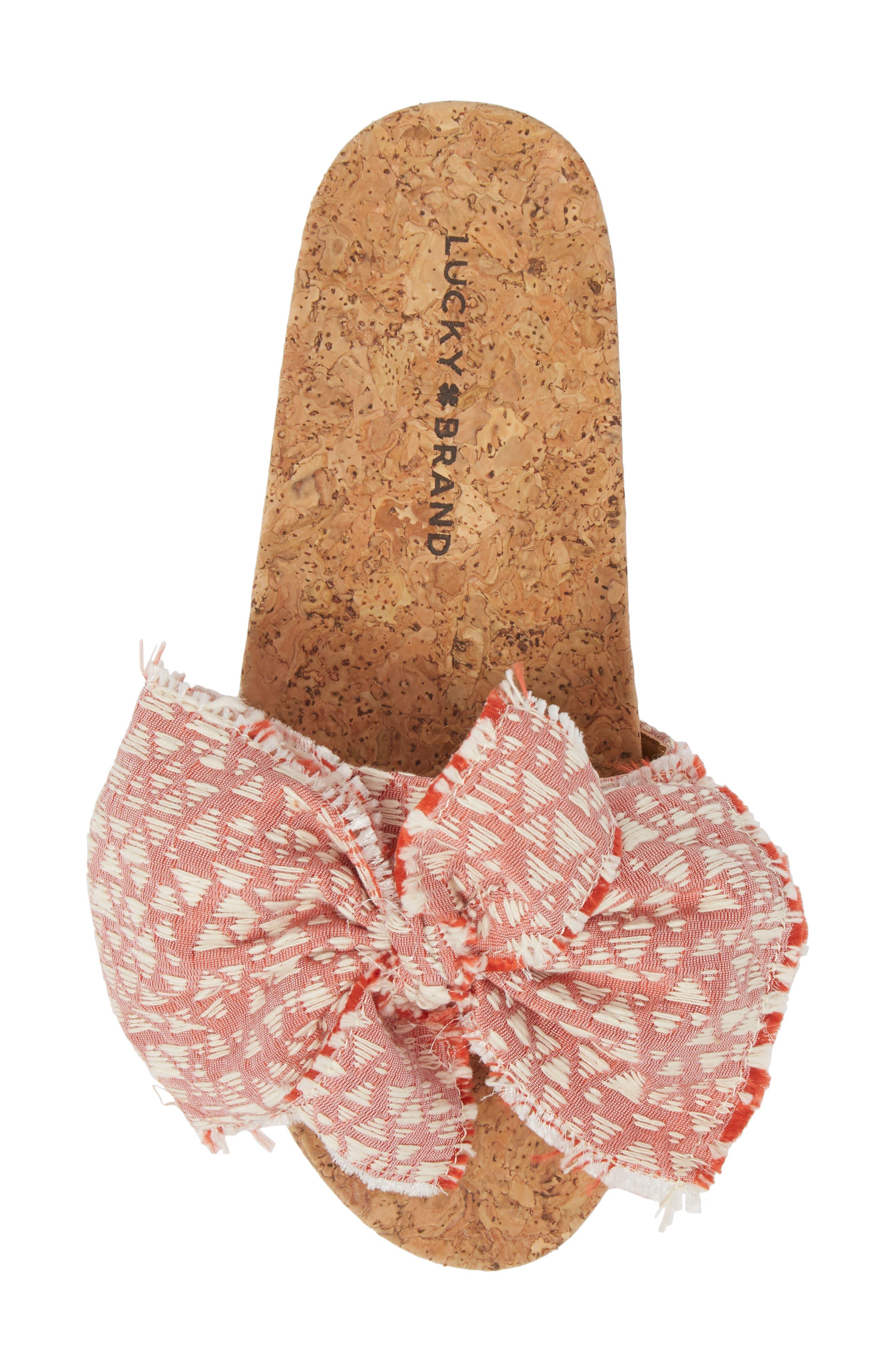 Floella Bow Slide Sandal,                             Alternate thumbnail 15, color,