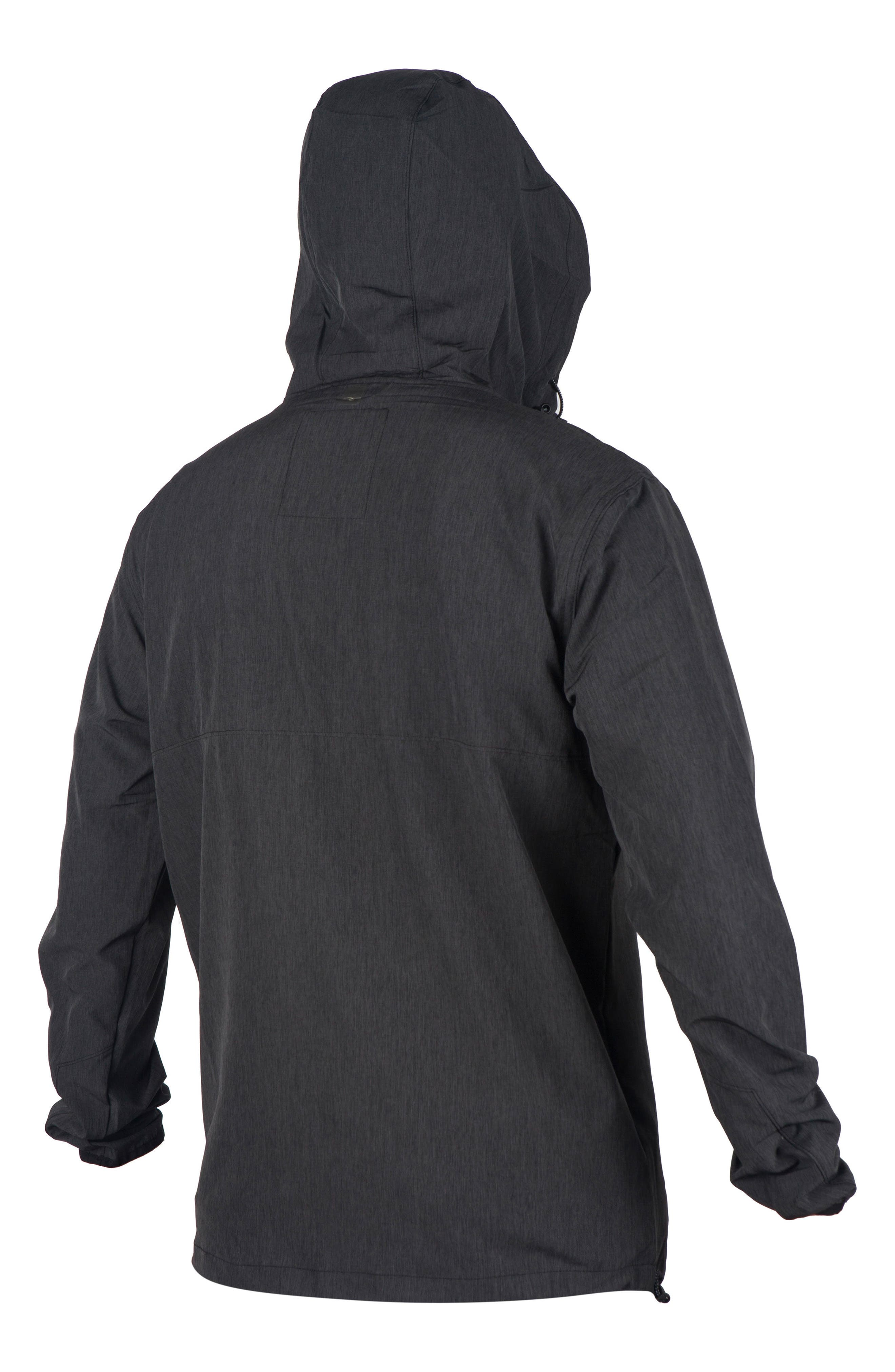 Elite Anti Series Water Repellent Windbreaker,                             Alternate thumbnail 2, color,                             001