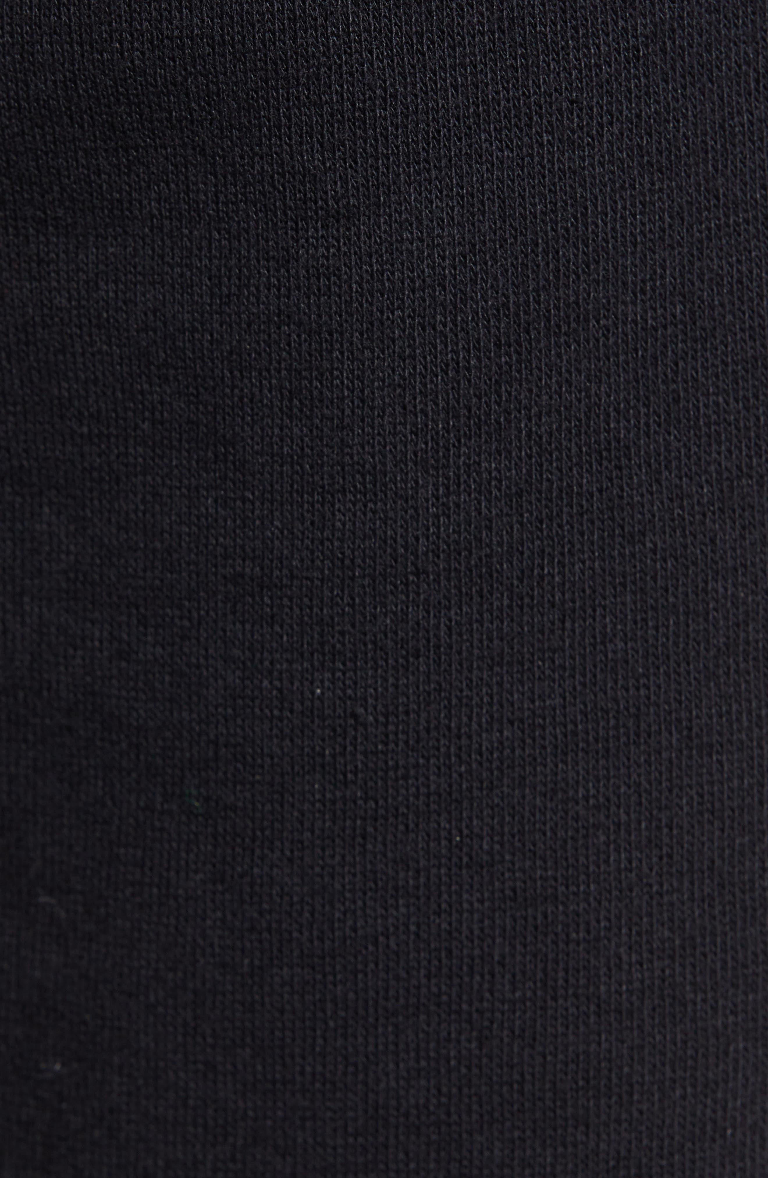 THE RAIL,                             Fleece Shorts,                             Alternate thumbnail 5, color,                             001