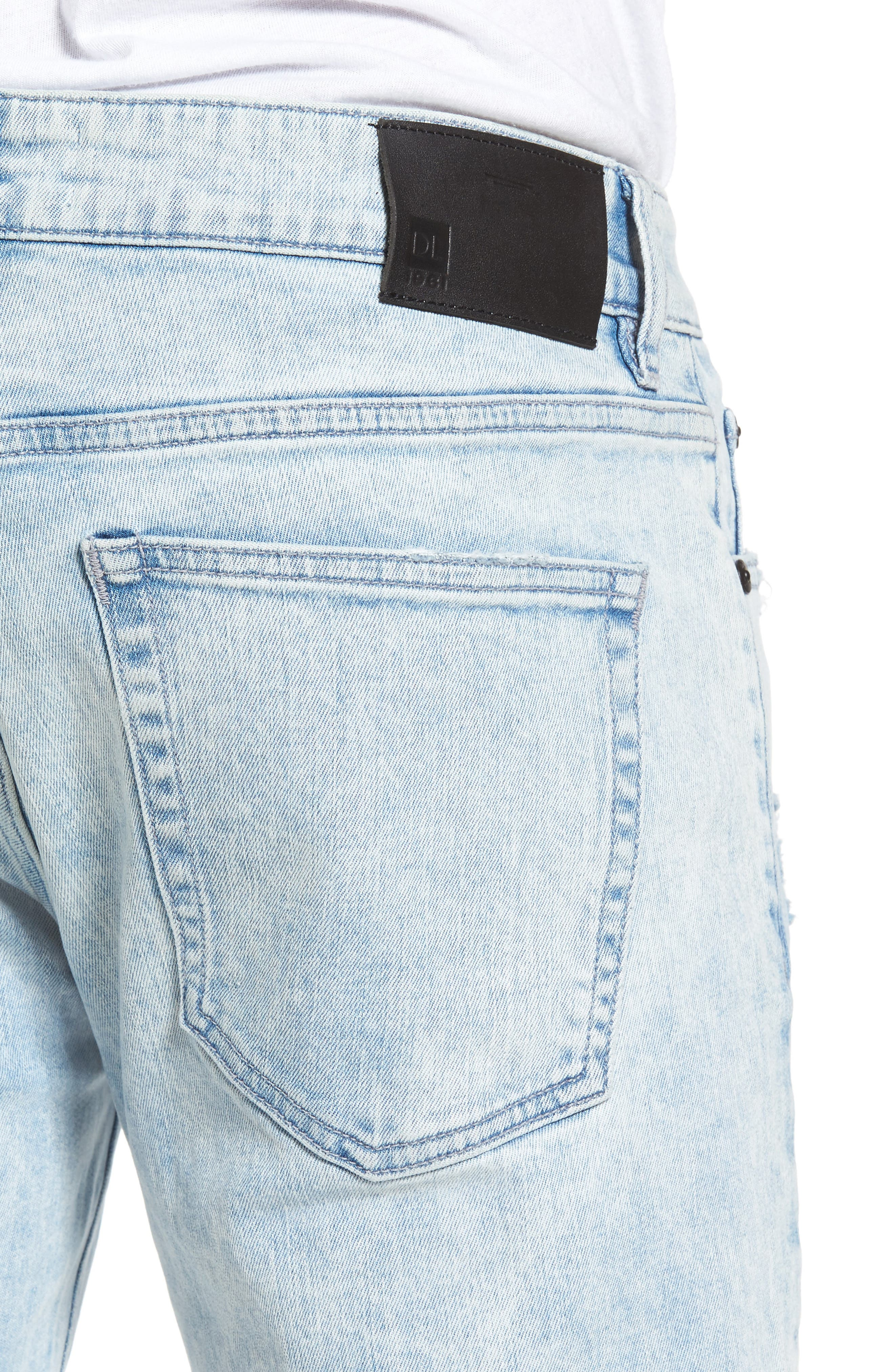 Nick Slim Fit Jeans,                             Alternate thumbnail 4, color,                             TORRENT