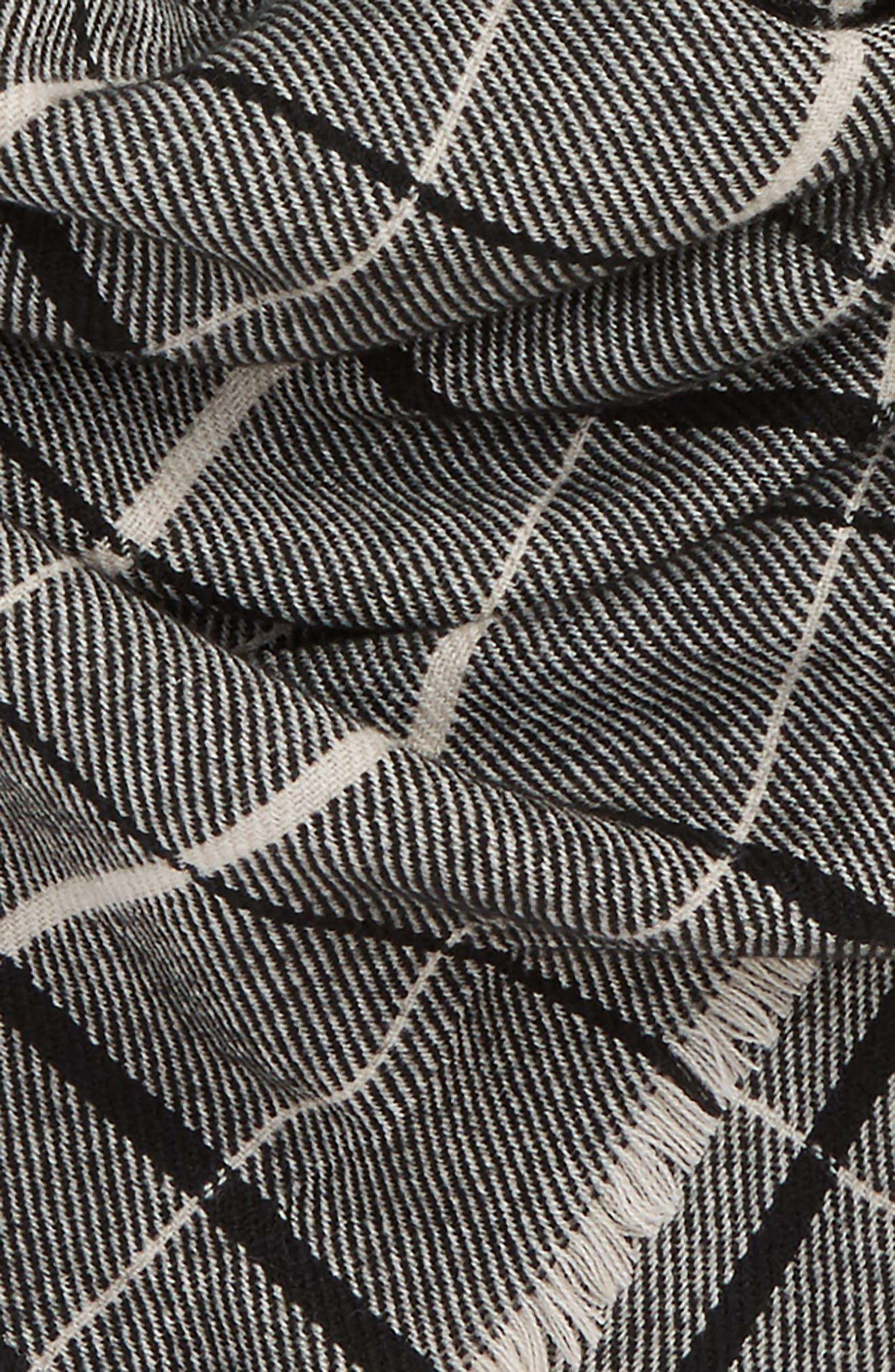 Twill Stripe Square Scarf,                             Alternate thumbnail 3, color,