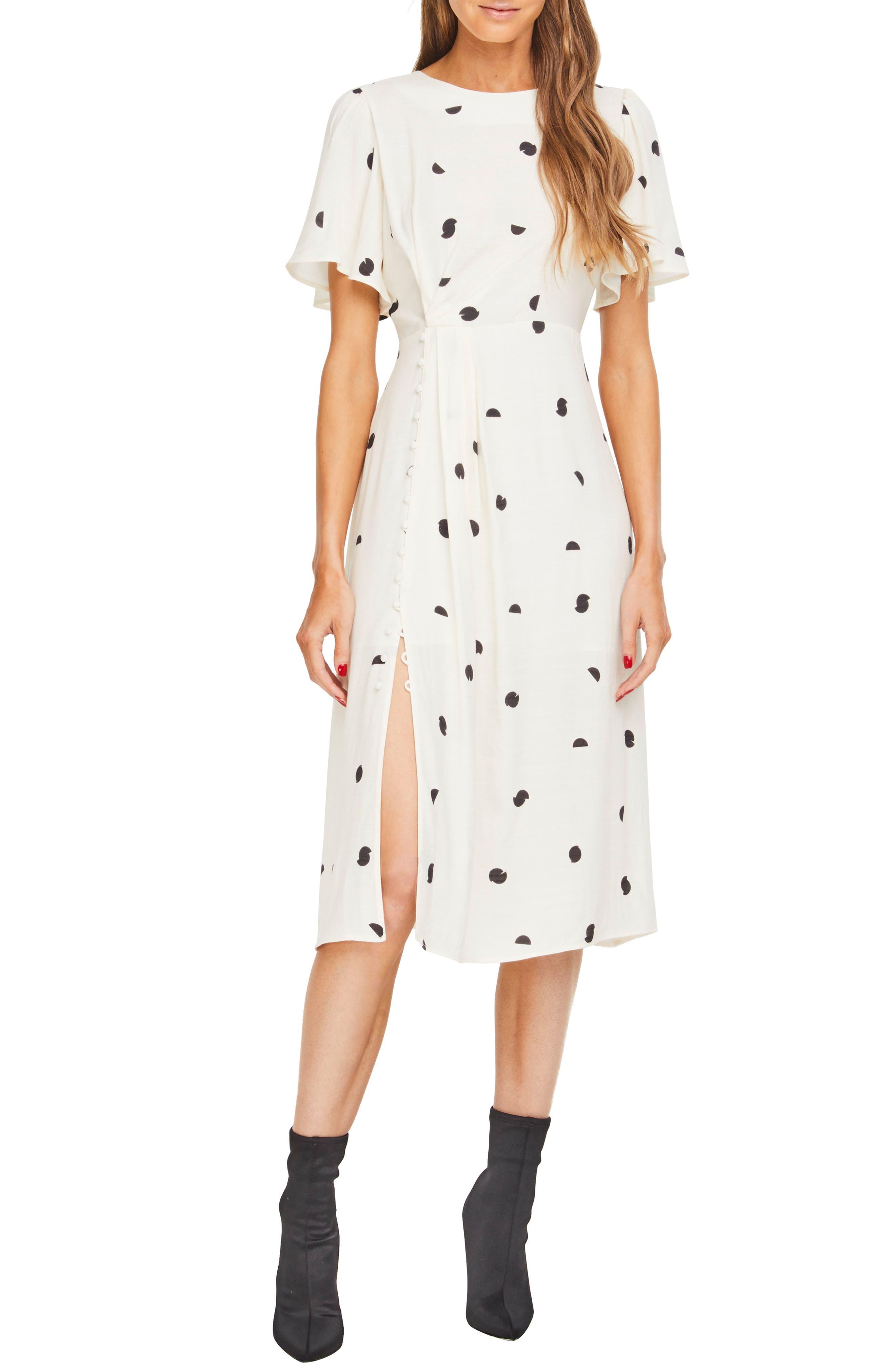 ASTR THE LABEL Ebony Dress, Main, color, 900
