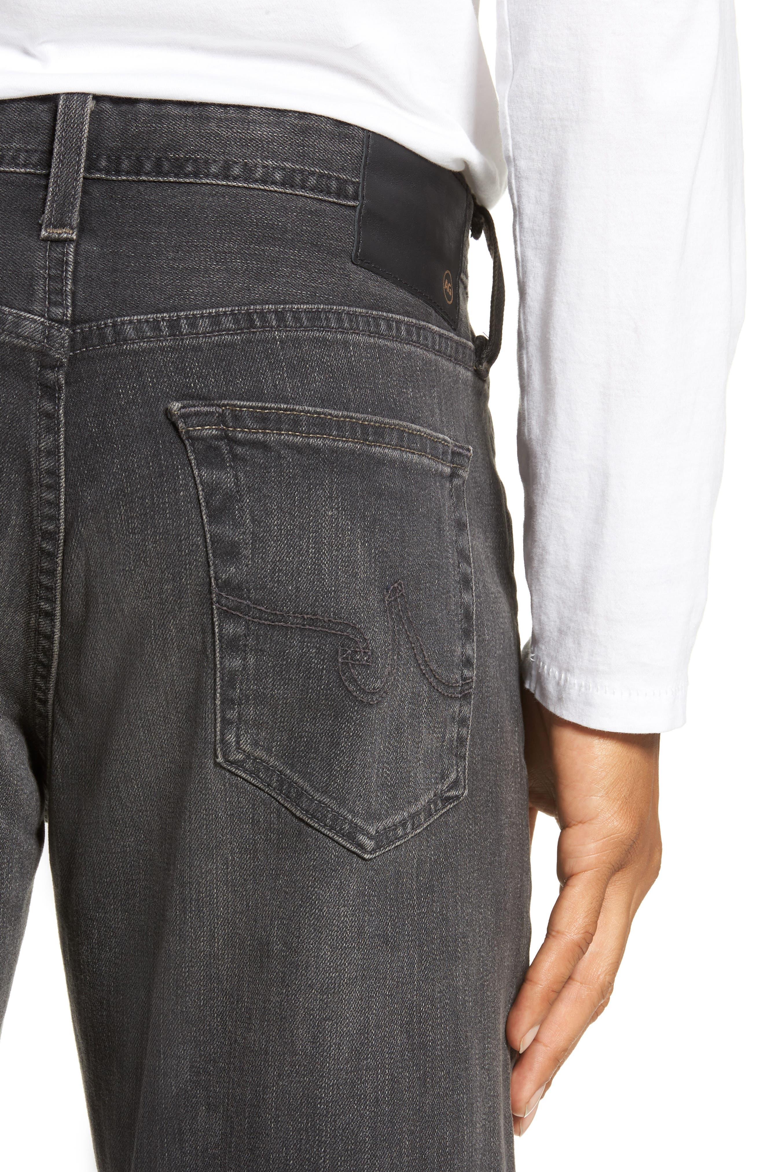 Graduate Slim Straight Leg Jeans,                             Alternate thumbnail 4, color,                             6 YEARS ARCADE