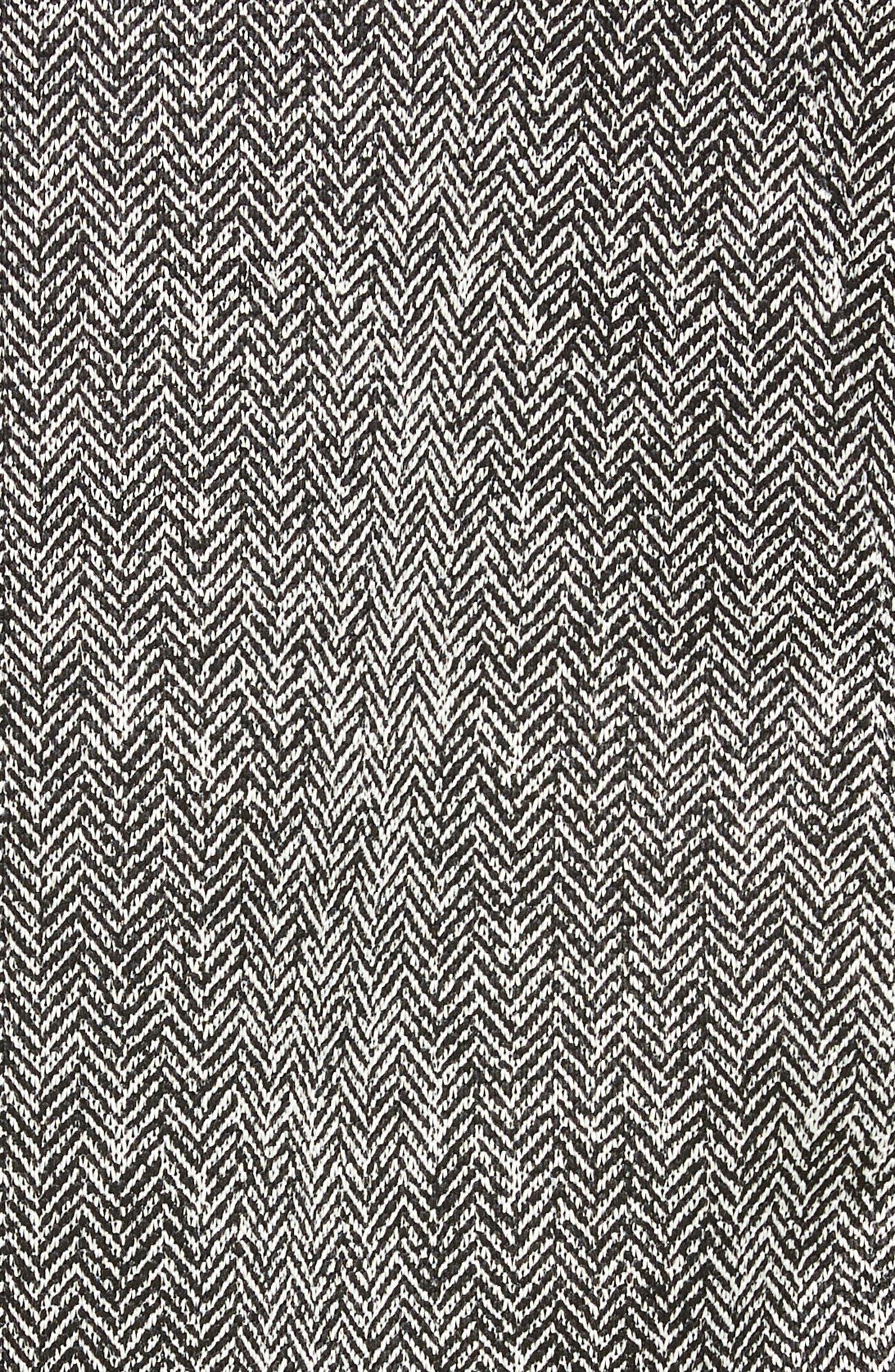 Apex Chromium Water Repellent Jacket,                             Alternate thumbnail 7, color,                             TNF BLACK HERRINGBONE