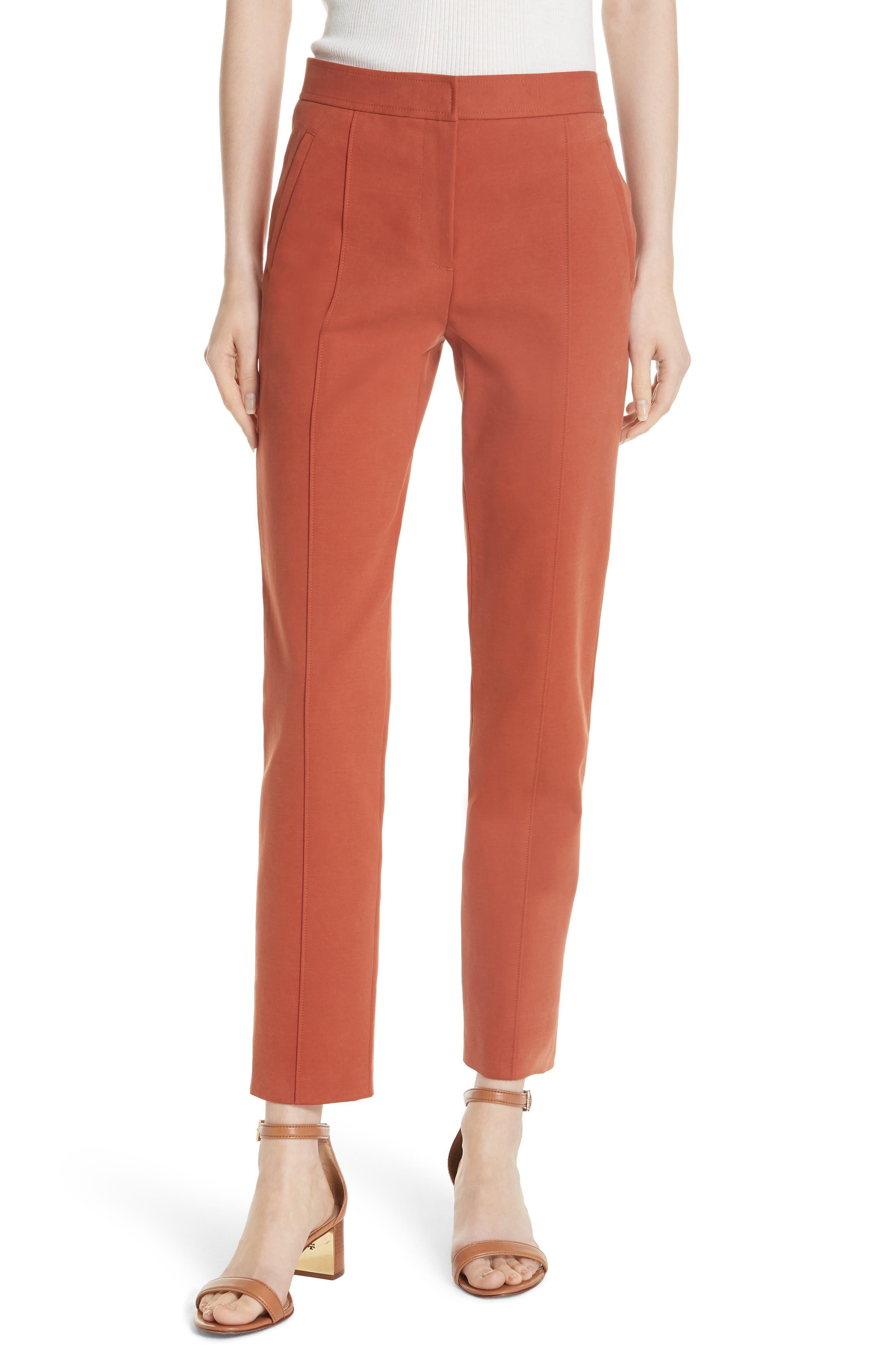 Vanner Slim Leg Ankle Pants,                         Main,                         color, DESERT SPICE