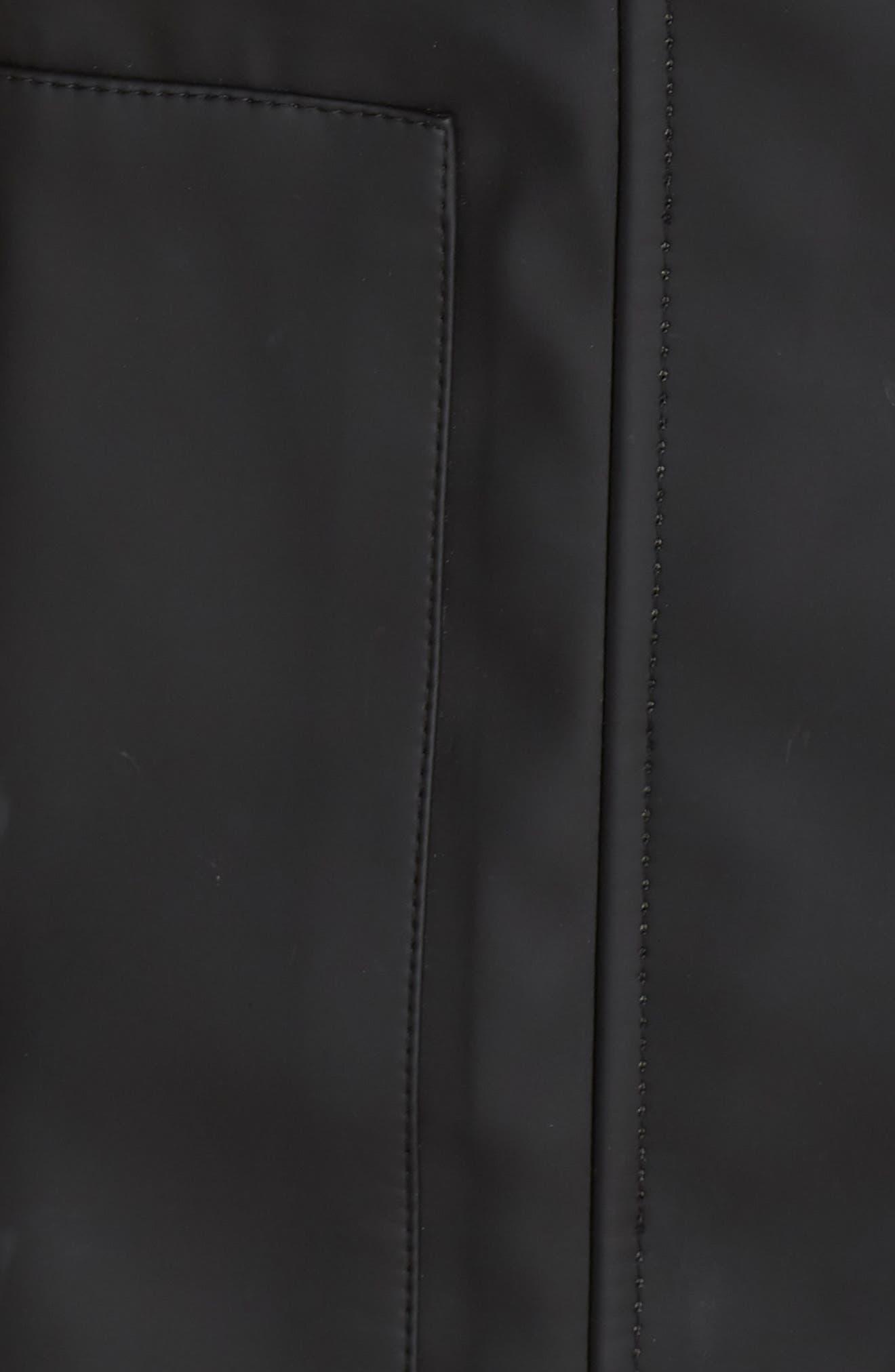 UGG<SUP>®</SUP>,                             Rylie Rain Jacket,                             Alternate thumbnail 7, color,                             001