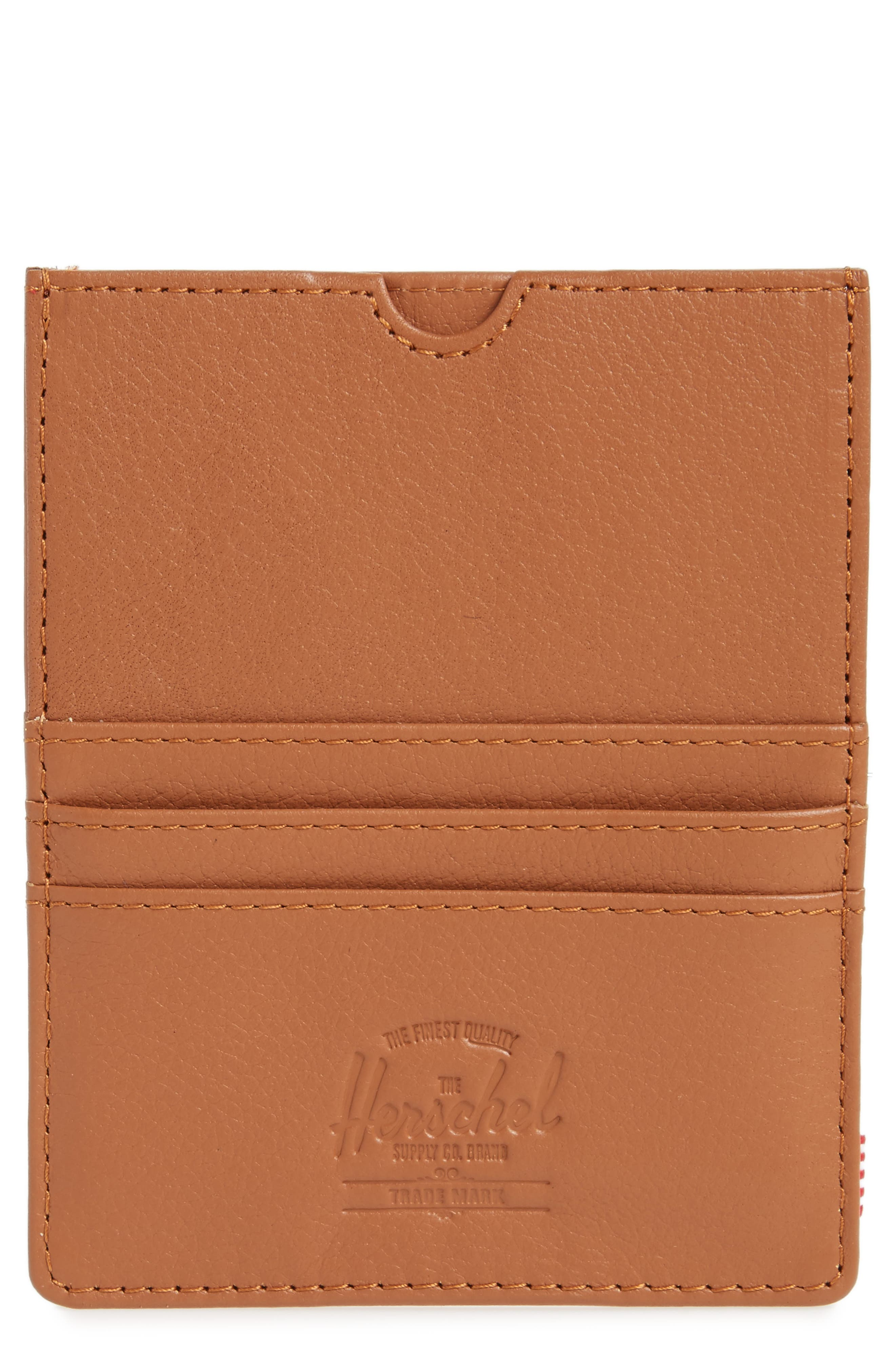 Eugene Leather Card Case,                             Main thumbnail 1, color,                             210