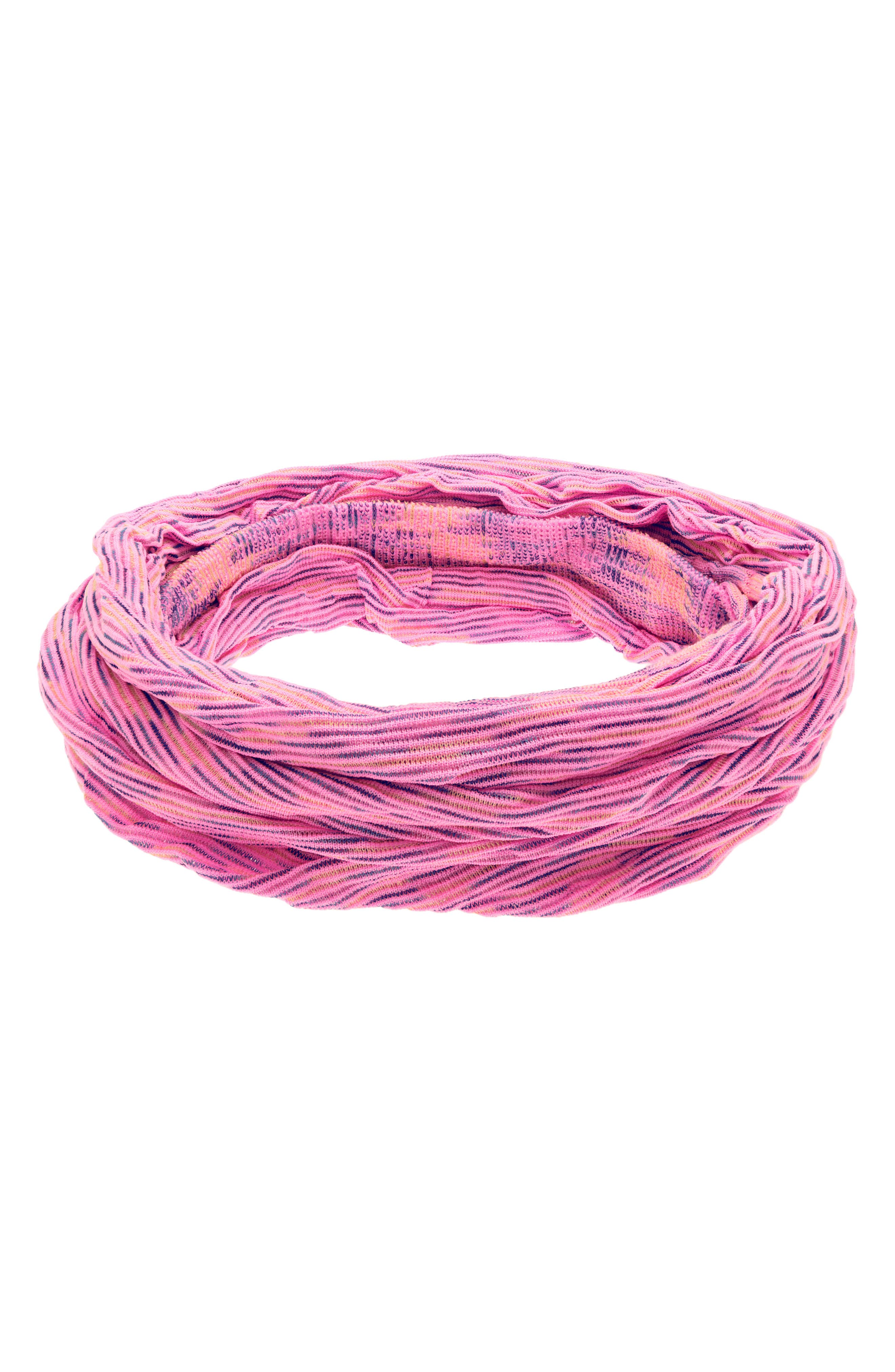 Space Dye Relaxed Turban Head Wrap,                             Alternate thumbnail 2, color,                             PINK