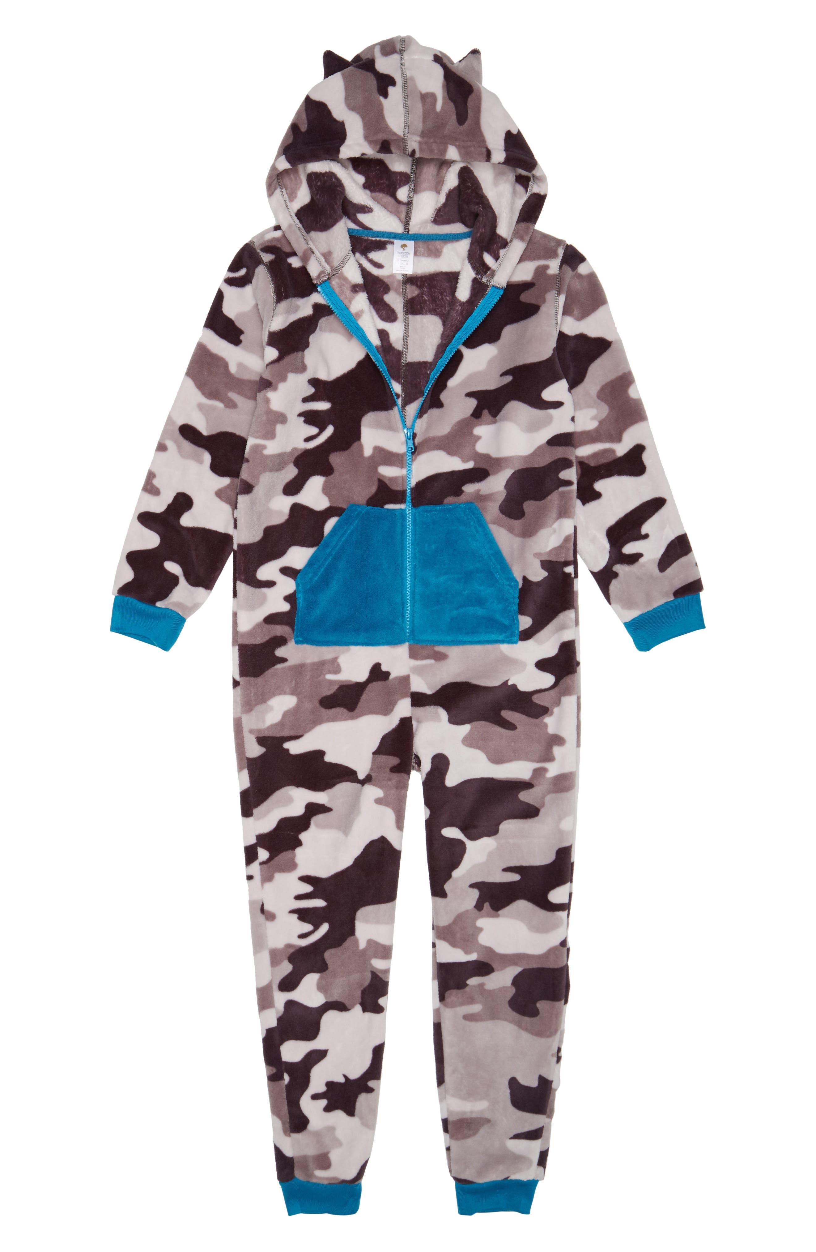 One-Piece Pajamas,                         Main,                         color, 021