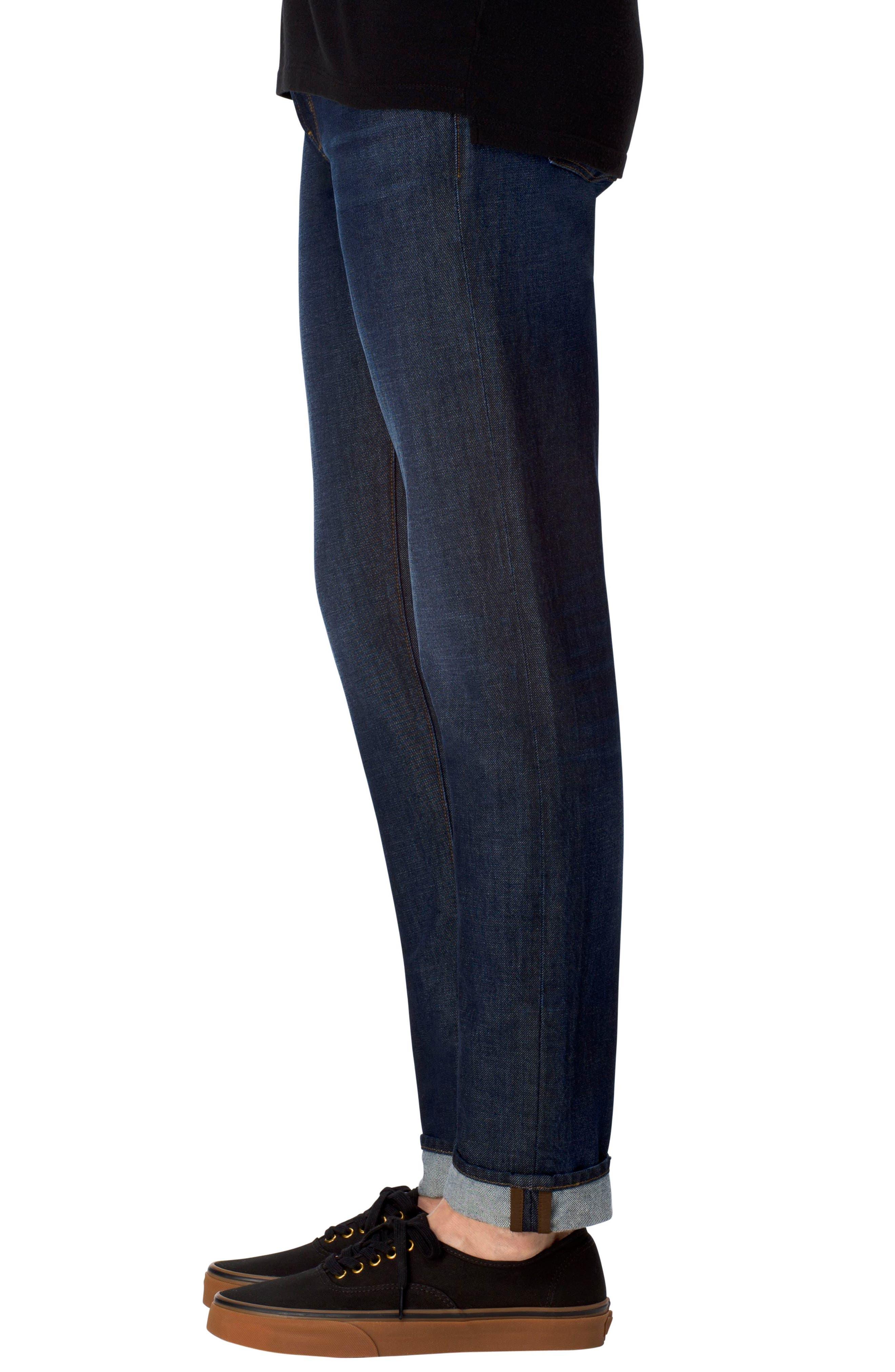 Tyler Slim Fit Jeans,                             Alternate thumbnail 3, color,                             401