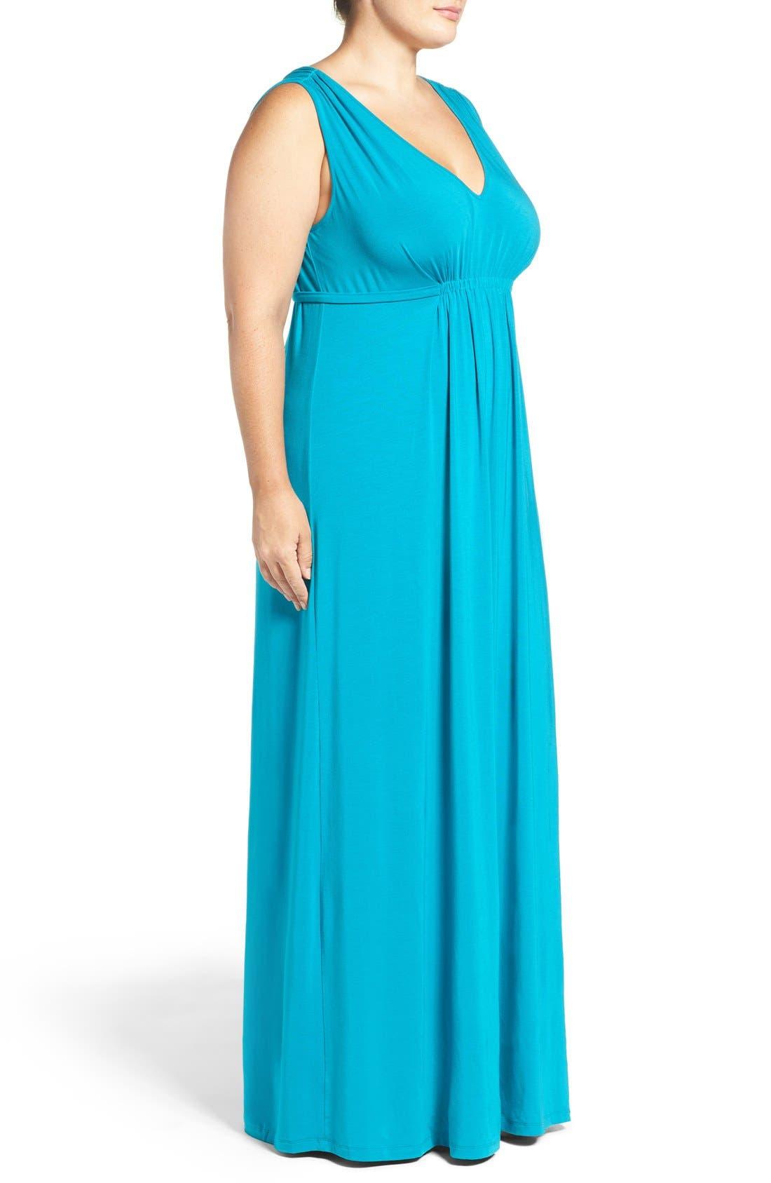 Grecia Sleeveless Jersey Maxi Dress,                             Alternate thumbnail 26, color,