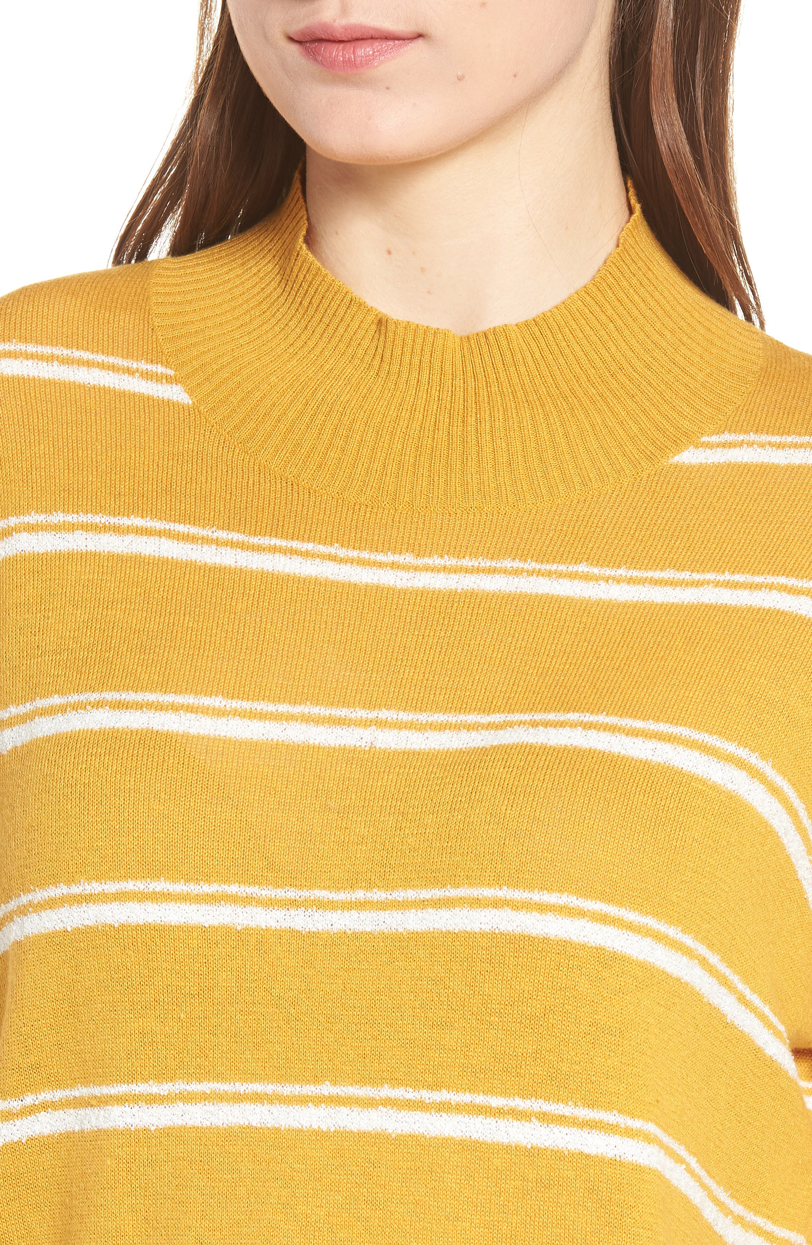 Armed Stripe Sweater,                             Alternate thumbnail 4, color,                             779