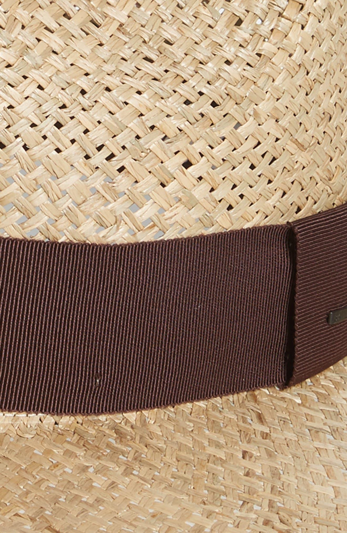 Kasmen Straw Hat,                             Alternate thumbnail 2, color,