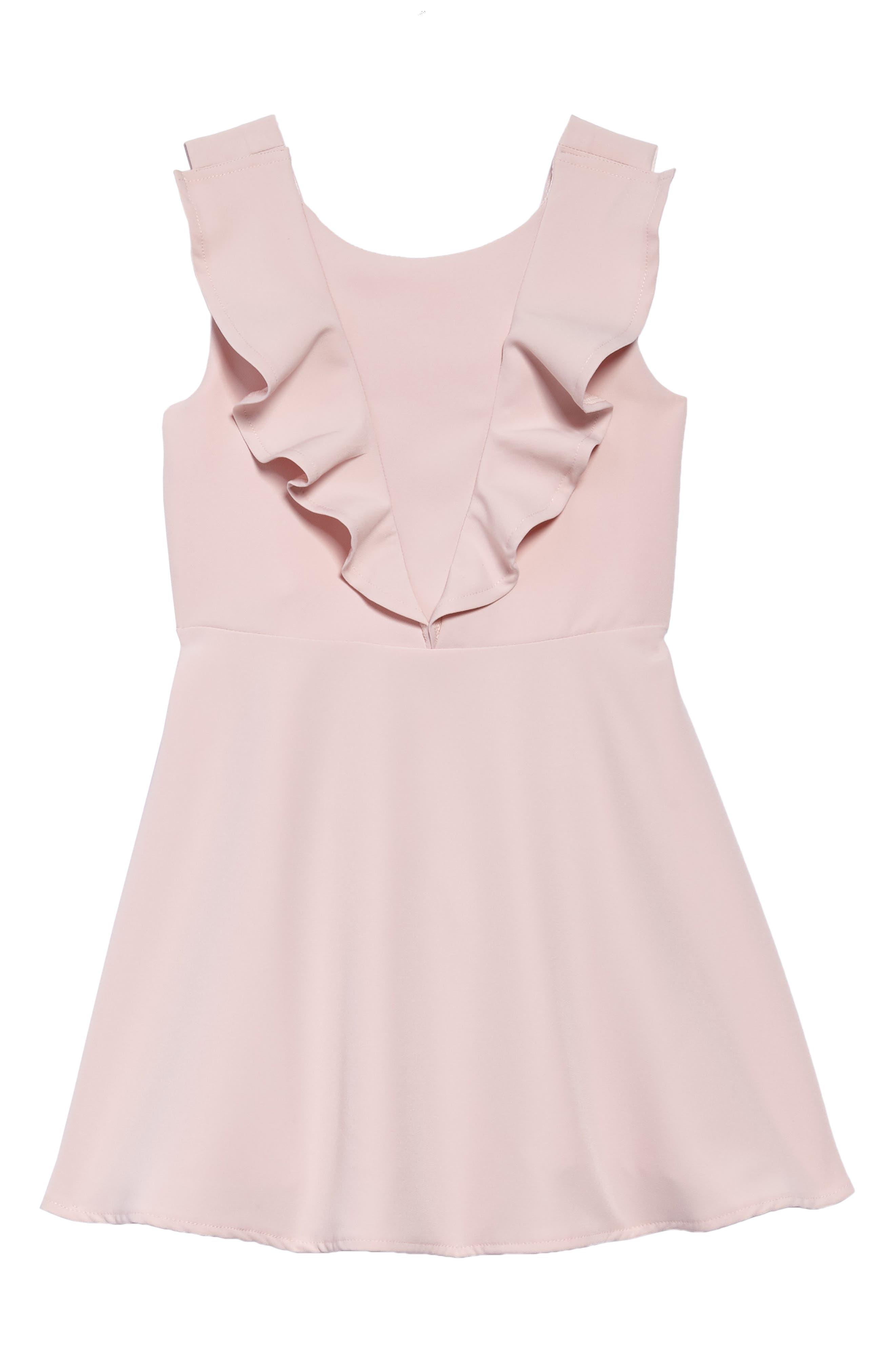 Riley Ruffle Dress,                         Main,                         color, POTPOURRI