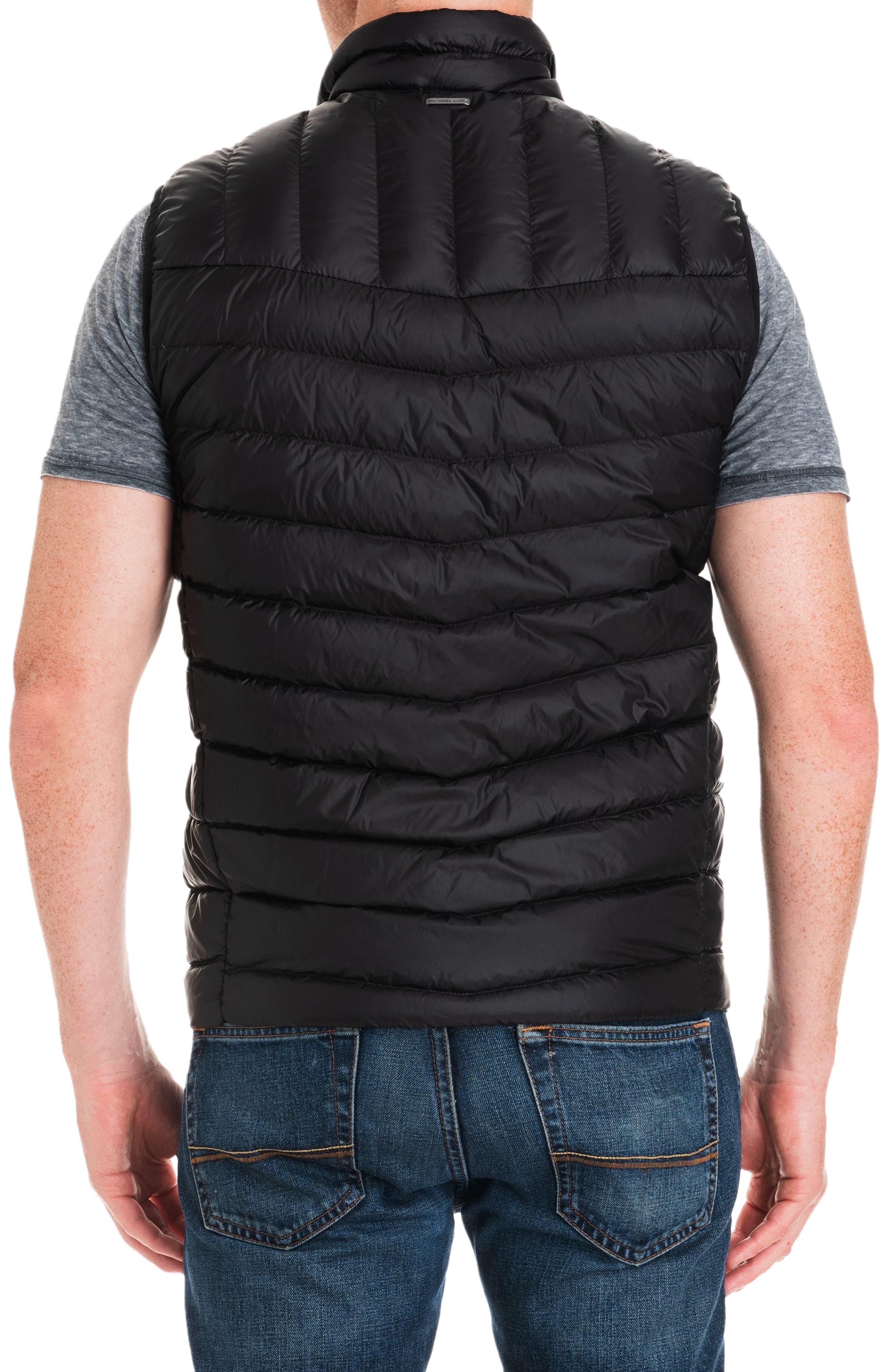 Hammond Quilted Vest,                             Alternate thumbnail 2, color,                             BLACK