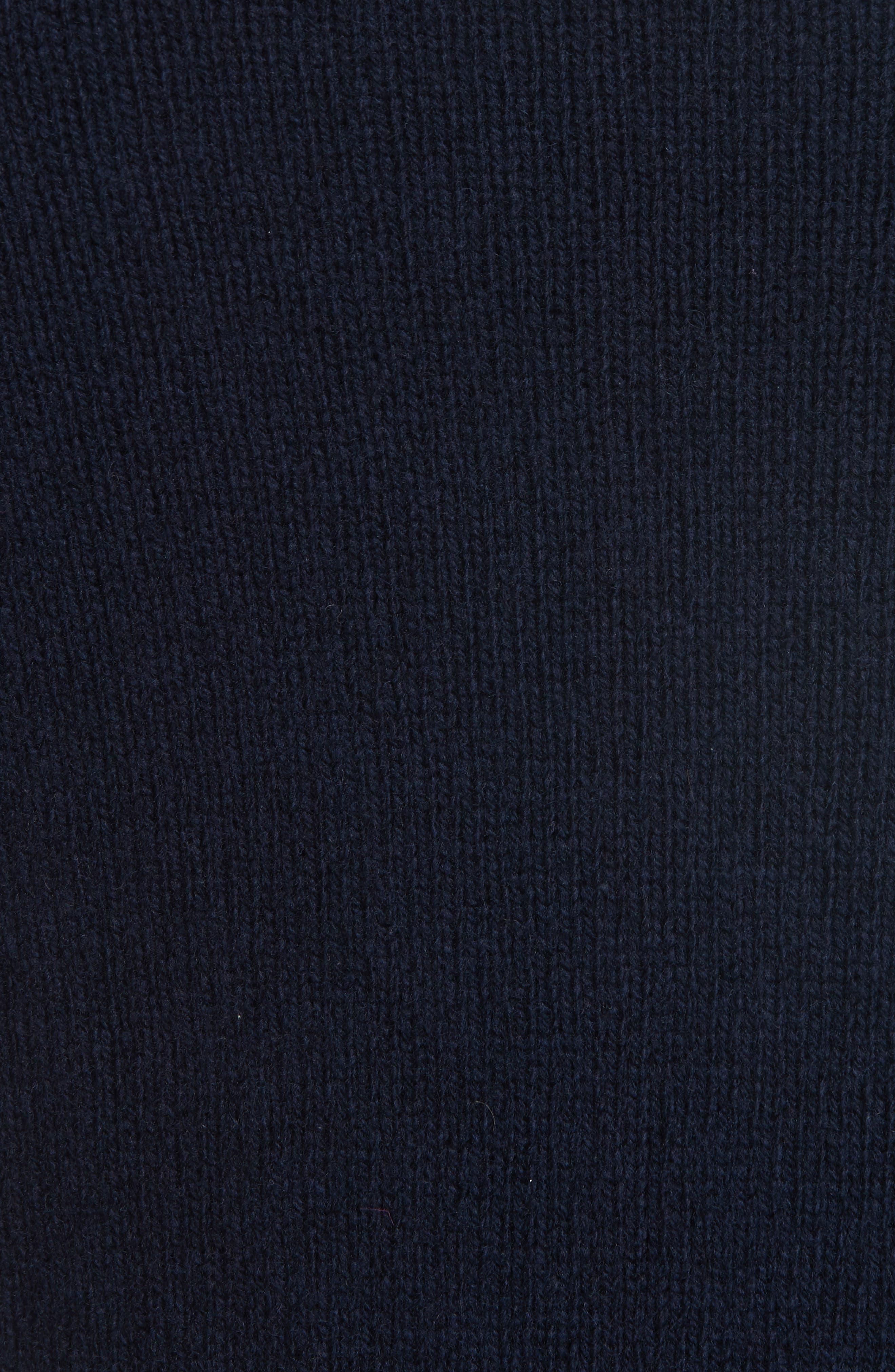 Officine Générale Wool Crewneck Sweater,                             Alternate thumbnail 5, color,                             410
