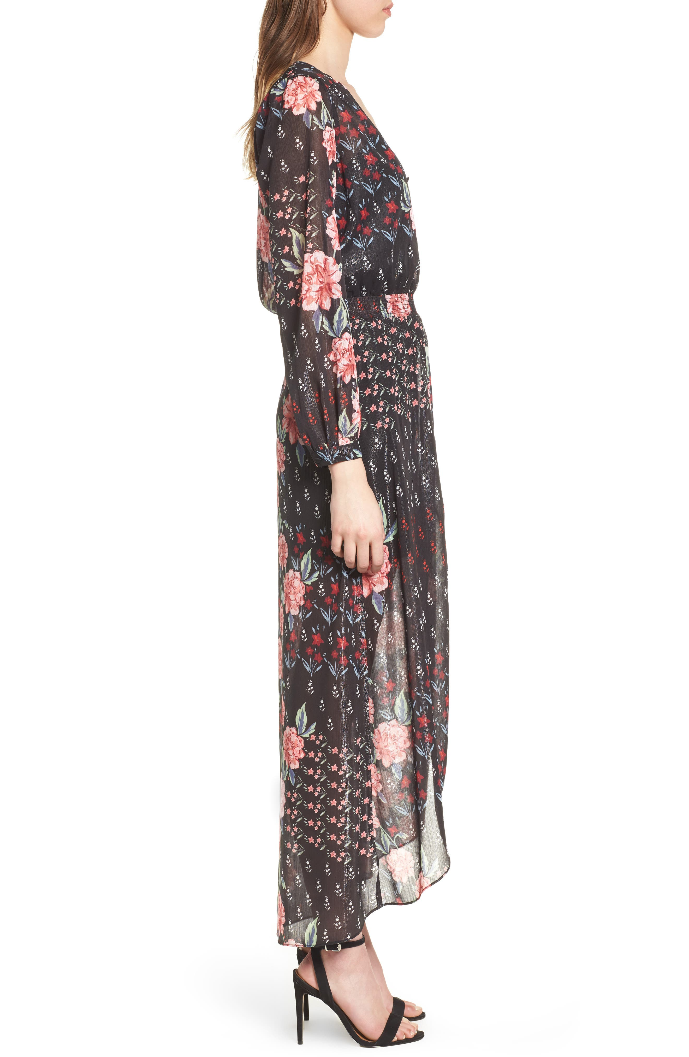 Abby Maxi Dress,                             Alternate thumbnail 3, color,