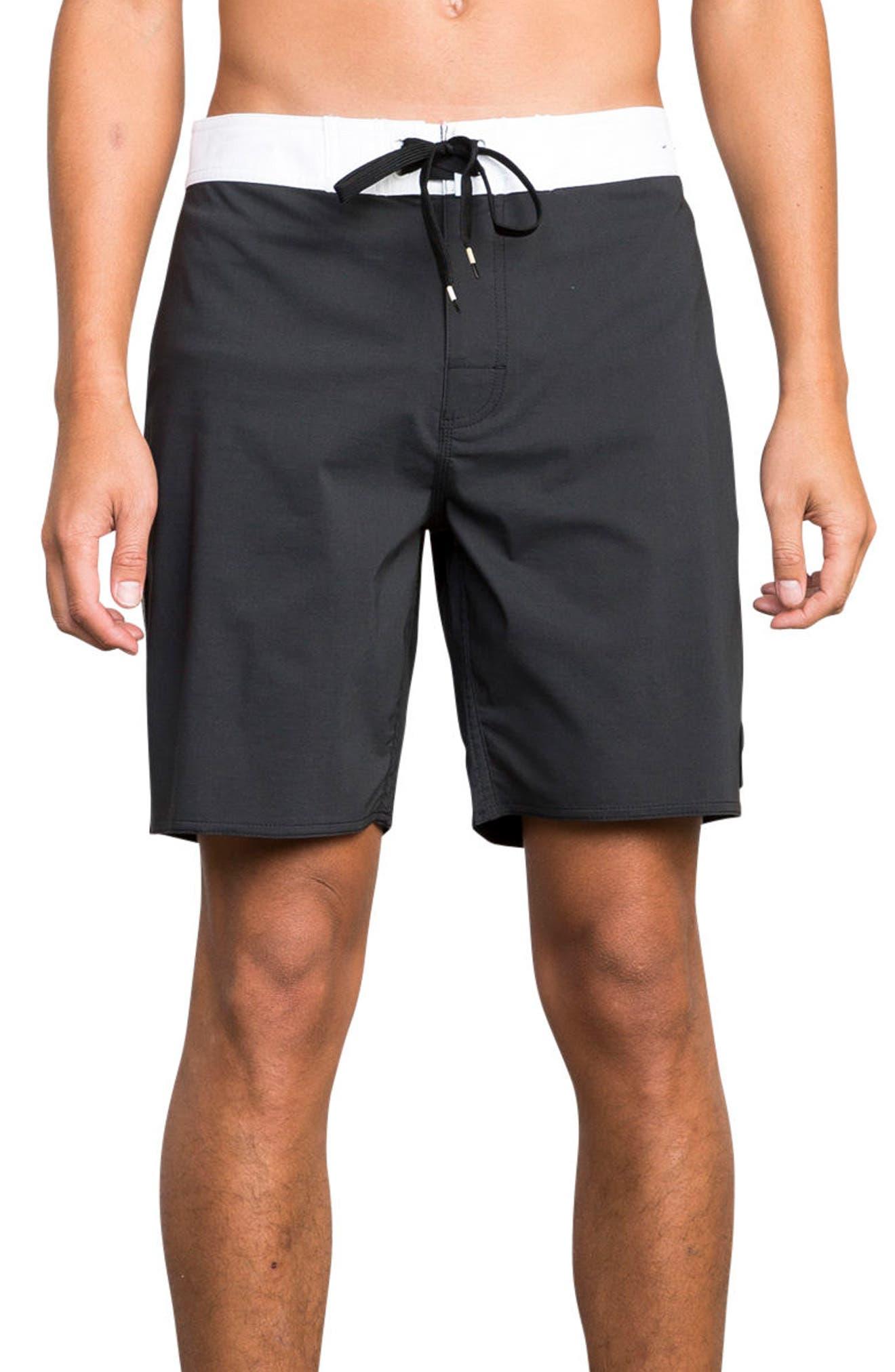 Smooth Like RVCA Board Shorts,                             Main thumbnail 1, color,                             003