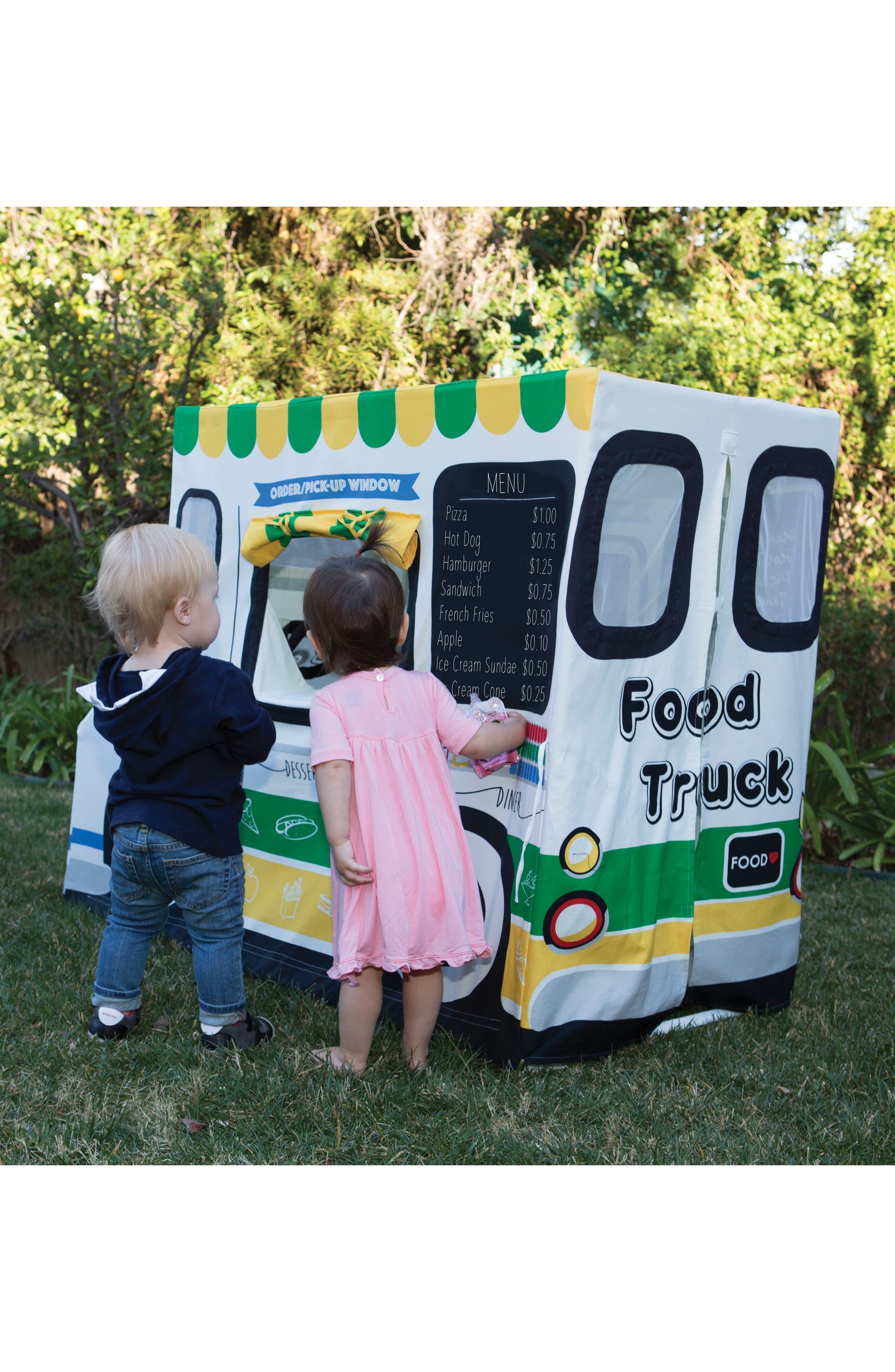 Food Truck Tent,                             Alternate thumbnail 7, color,                             WHITE
