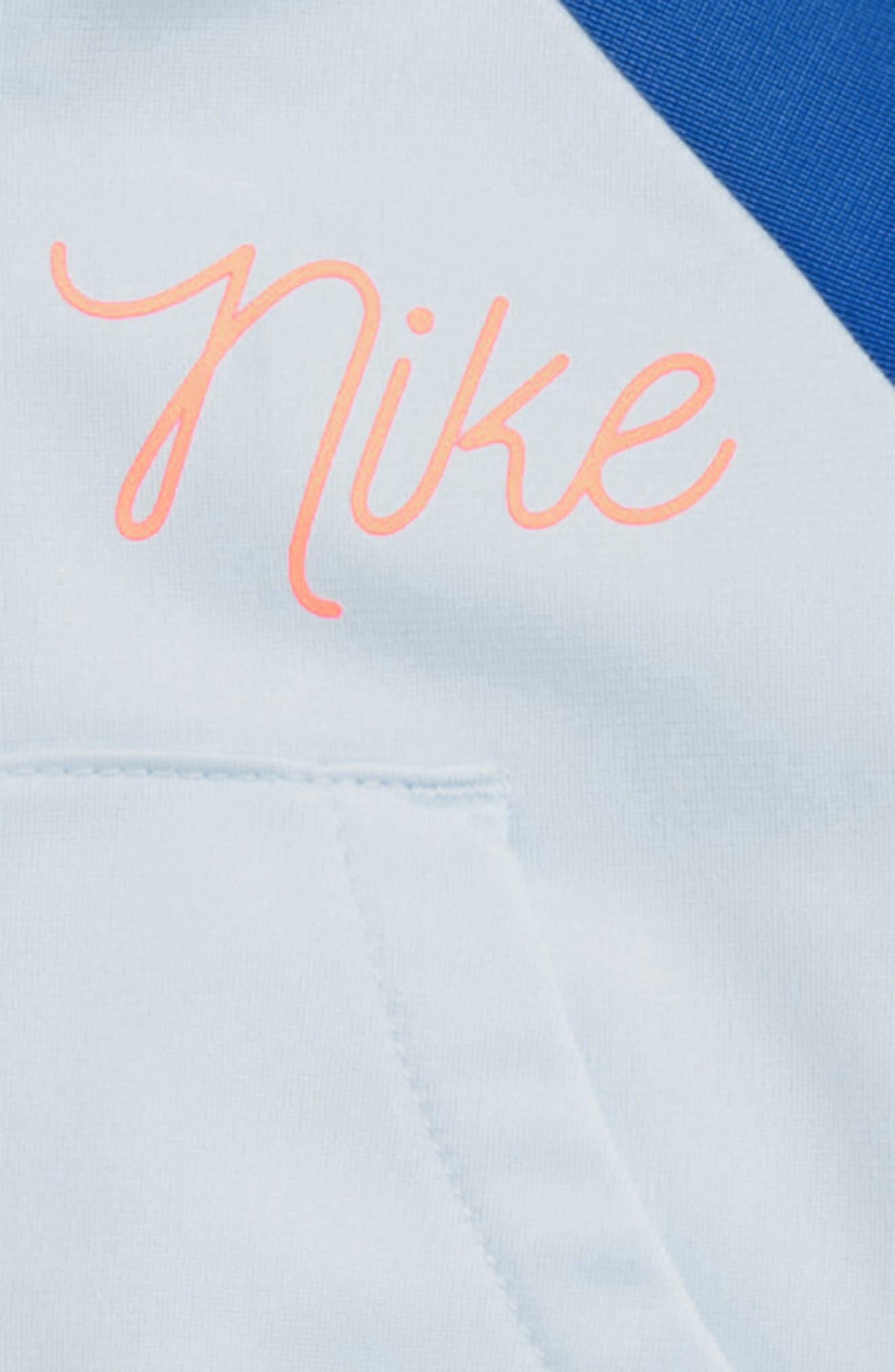 Swoosh Tricot Track Suit Set,                             Alternate thumbnail 2, color,                             SIGNAL BLUE