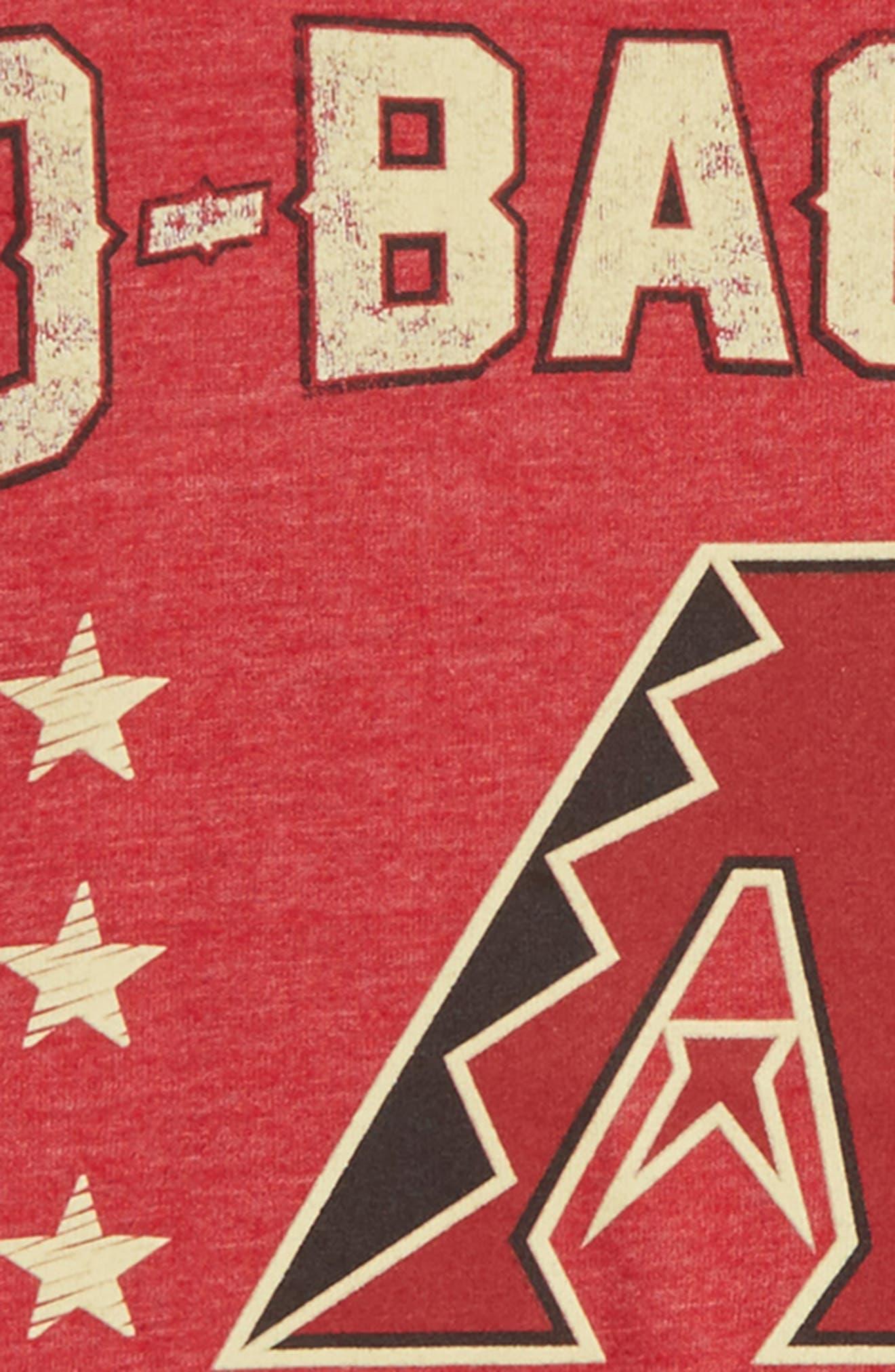 Arizona Diamondbacks Triple Play T-Shirt,                             Alternate thumbnail 2, color,                             600
