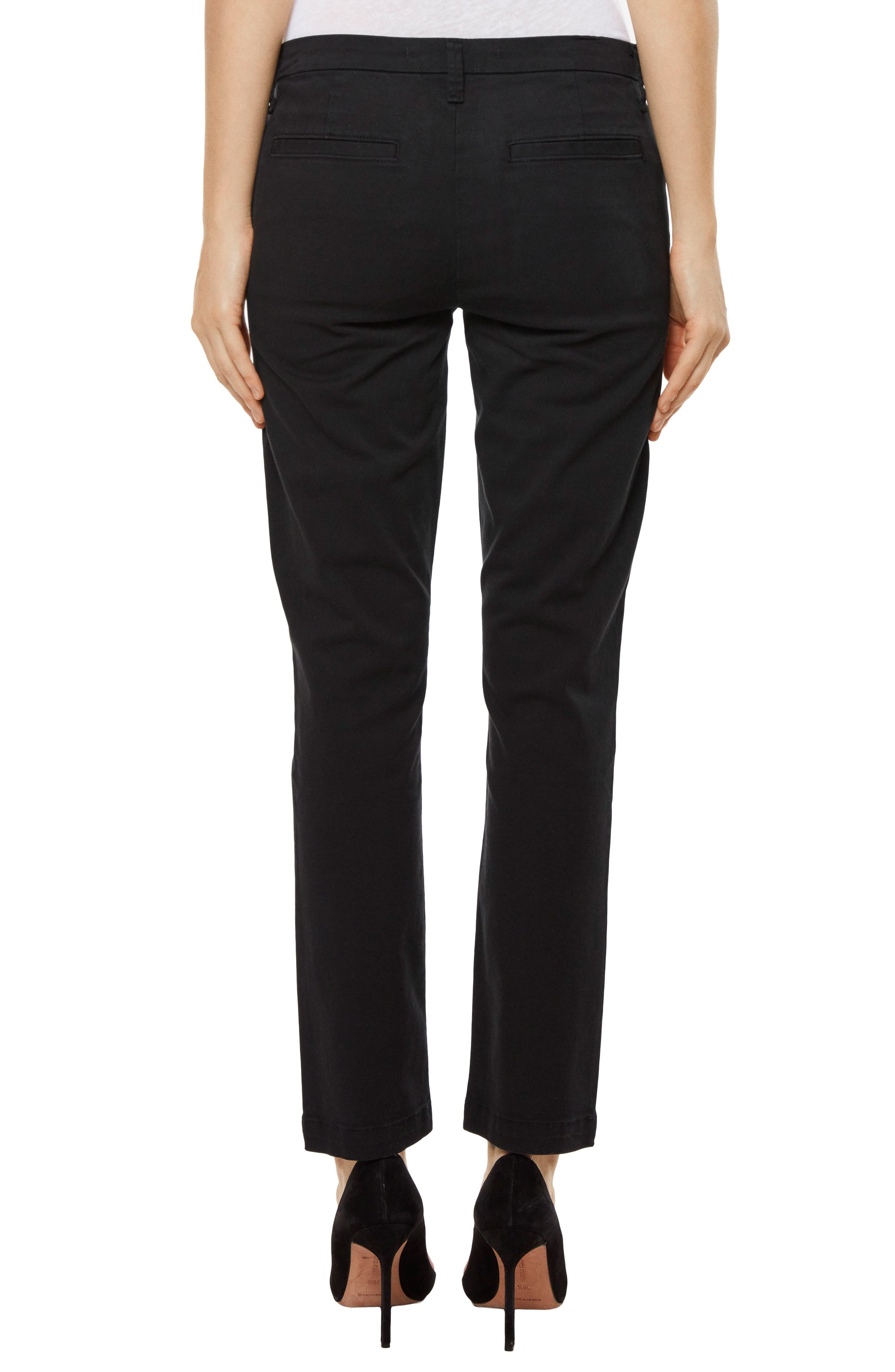 Clara Ankle Trousers,                             Alternate thumbnail 2, color,                             001