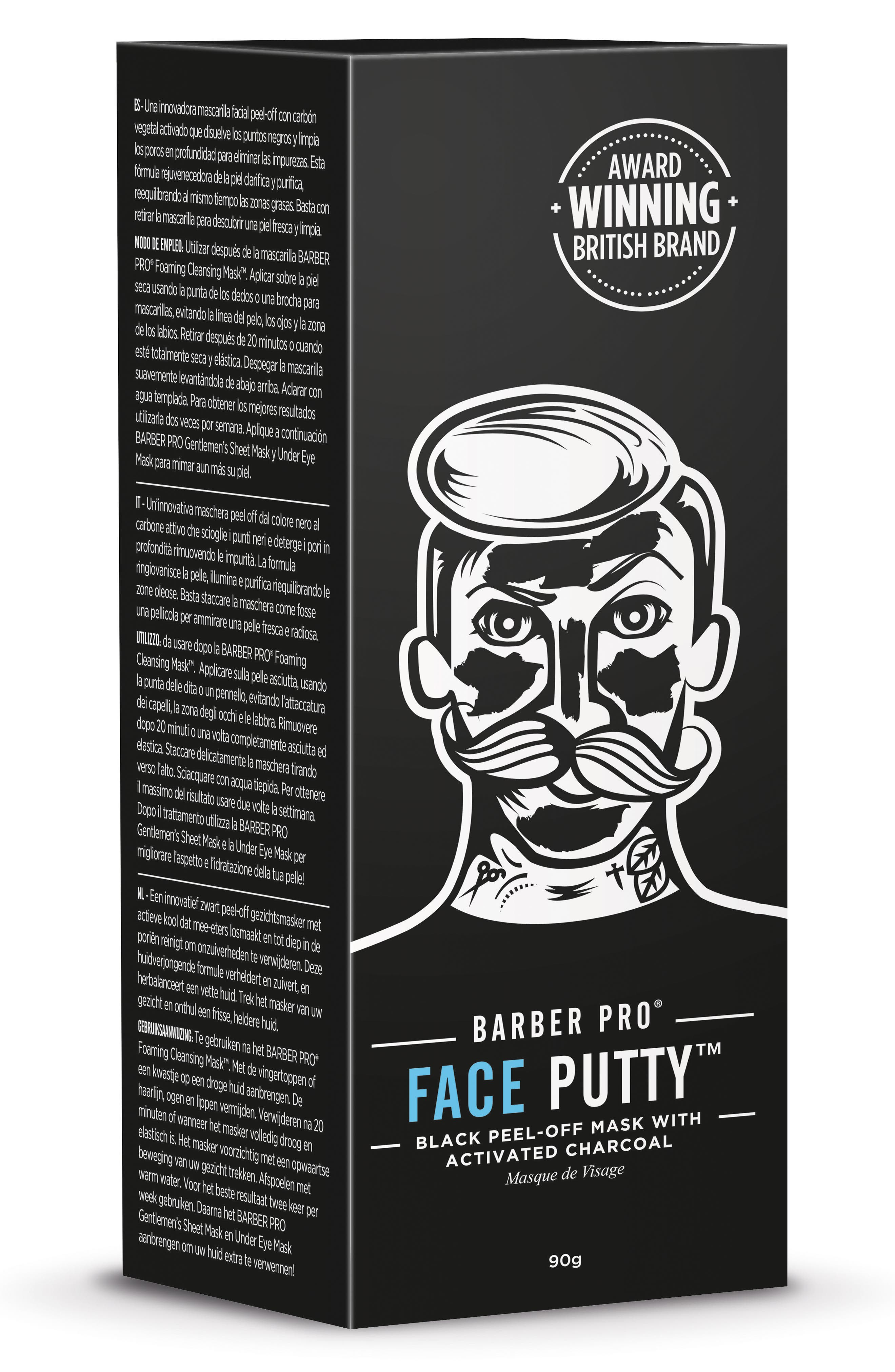 Face Putty Peel-Off Mask,                             Alternate thumbnail 2, color,                             NO COLOR
