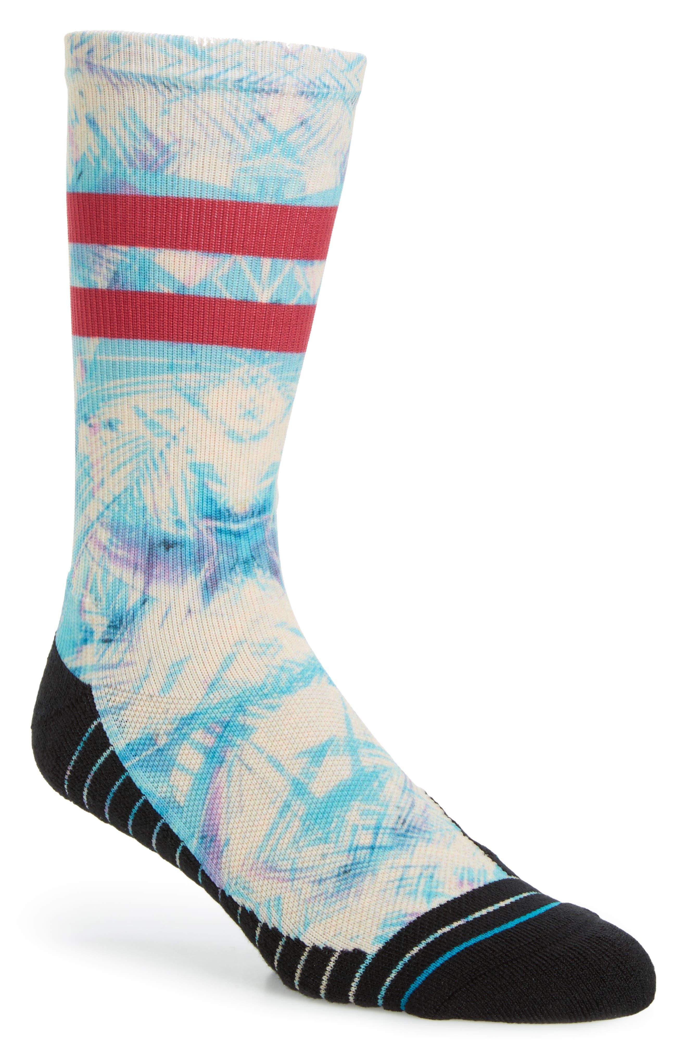Ultraviolet Atheltic Crew Socks,                             Main thumbnail 1, color,                             420