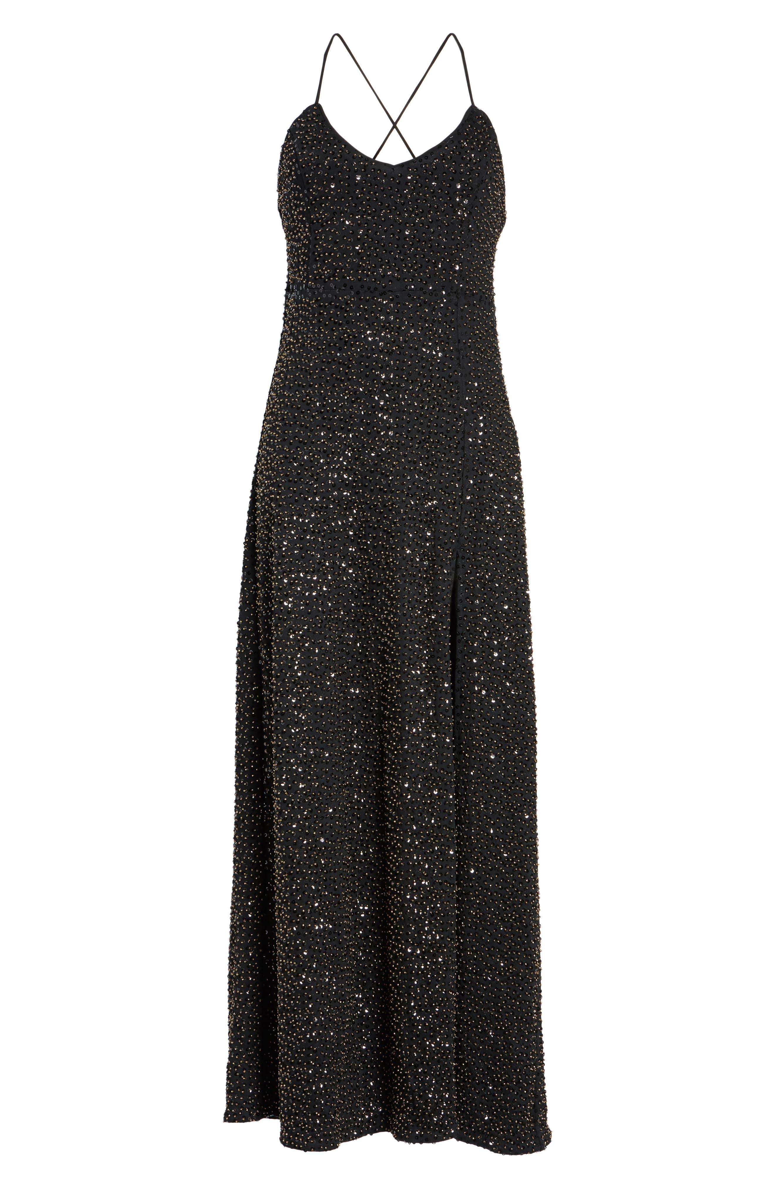 Gracen Maxi Dress,                             Alternate thumbnail 6, color,                             004