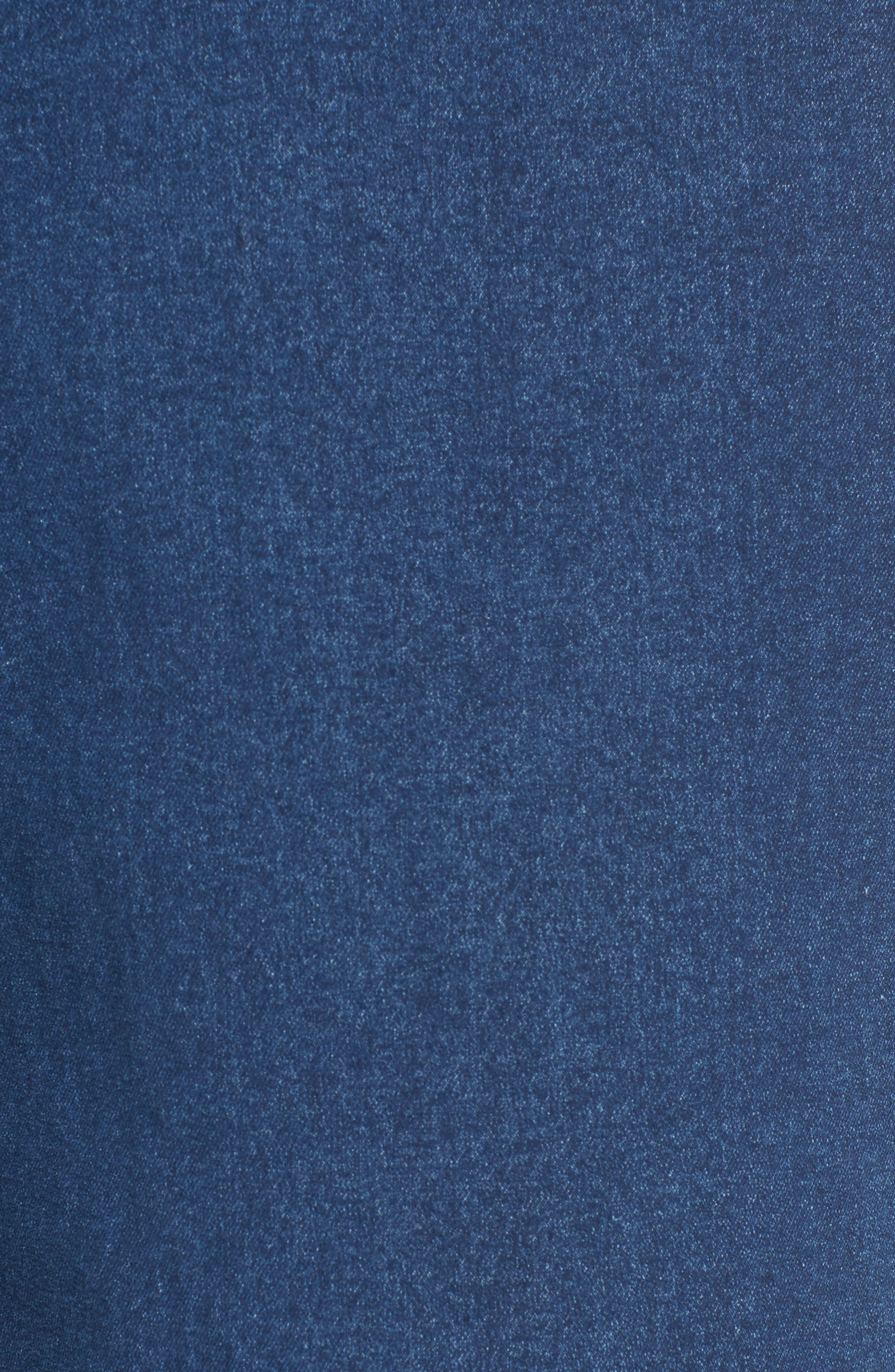 Crop Denim Pants,                             Alternate thumbnail 5, color,